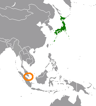 Japanese file - pre-war Japanese penetration in Southeast Asia