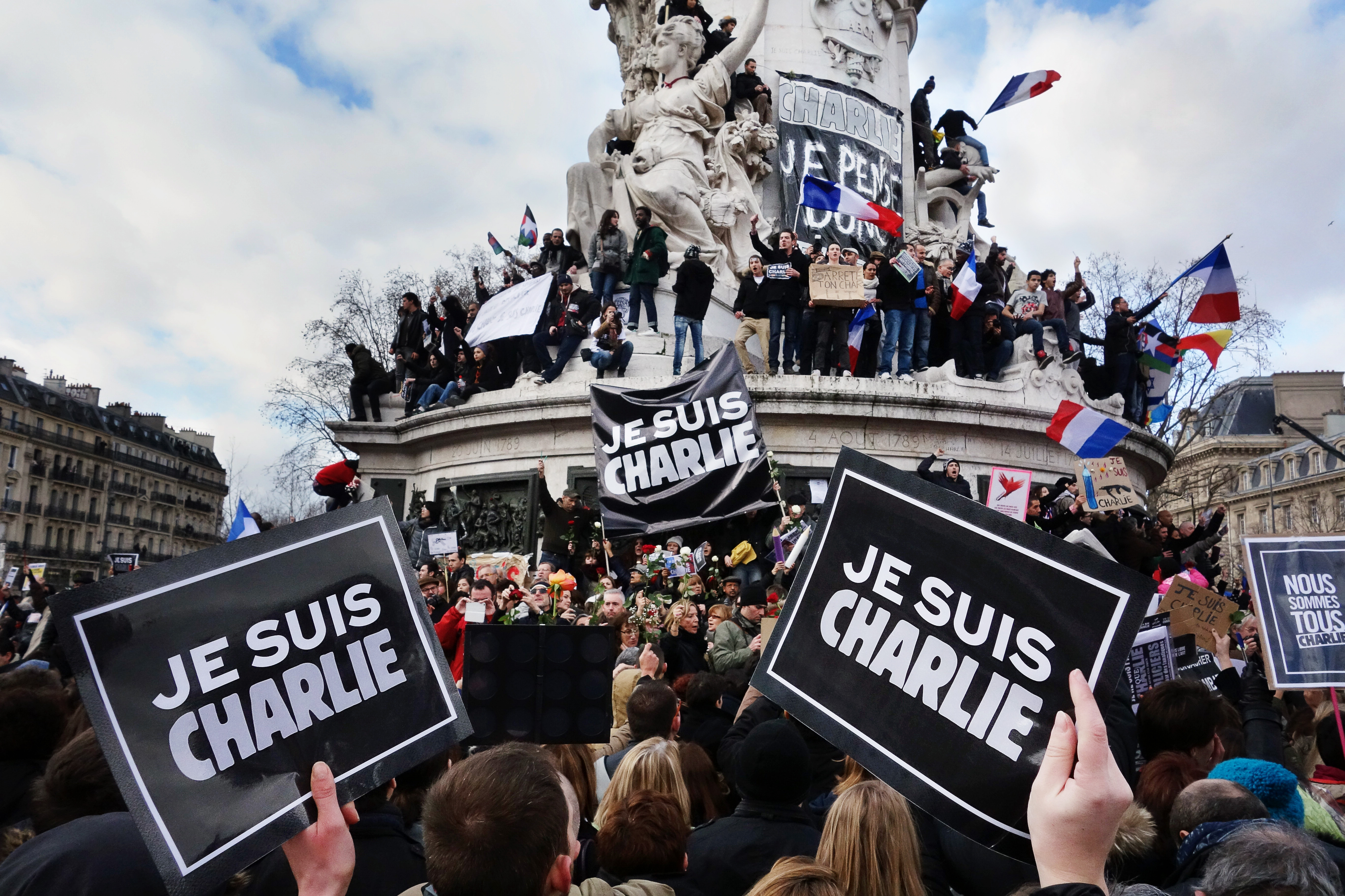 """""""Charlie-Hebdo""""-Chef: Meinungsfreiheit wird """"Luxusprodukt"""""""