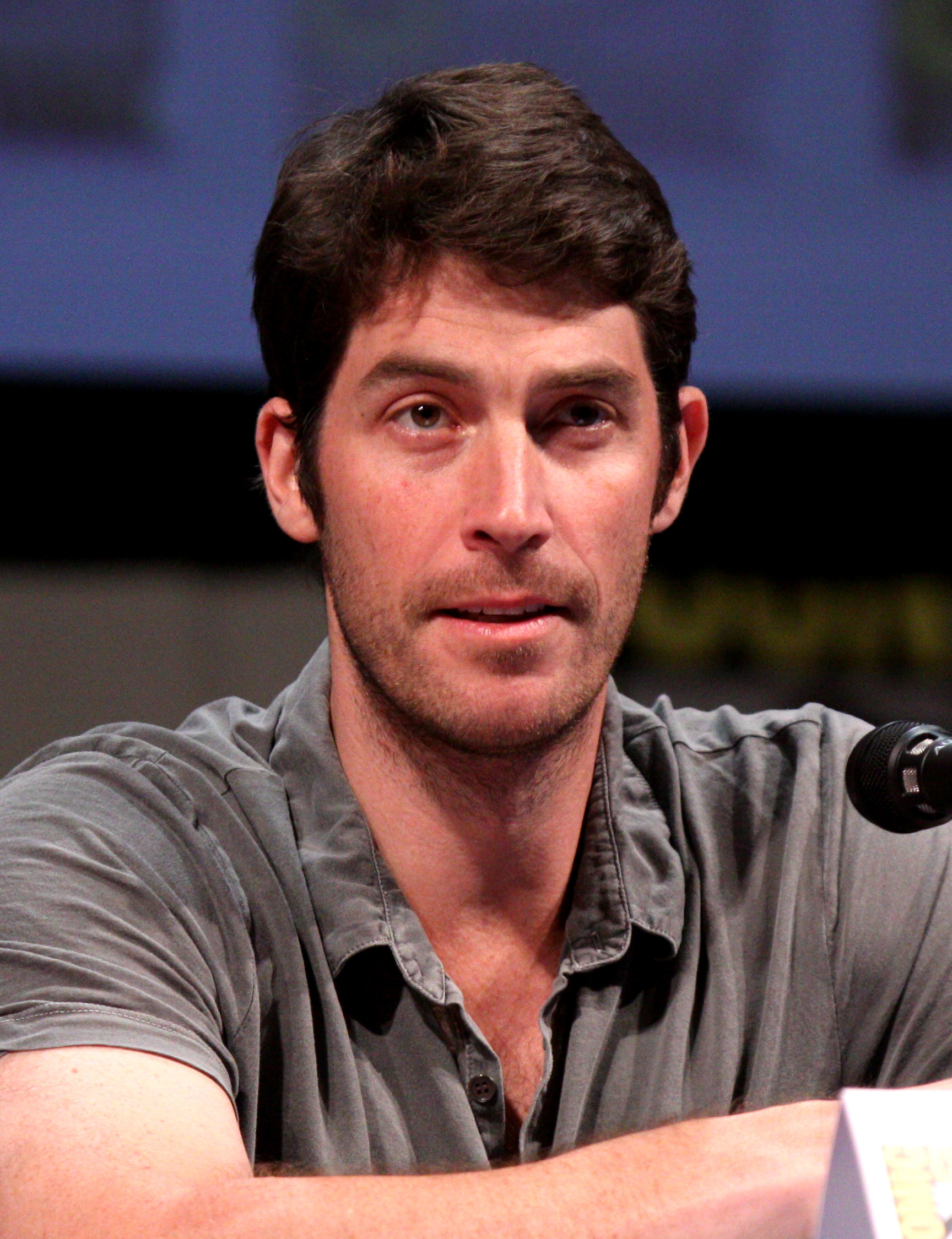 Viener at the [[San Diego Comic-Con International]], July 2011