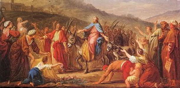 In jesus jerusalem einzug Jesu Einzug