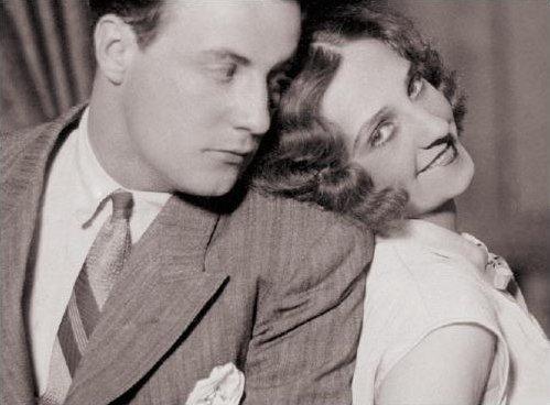 С Луизой Гейс в 1928 году