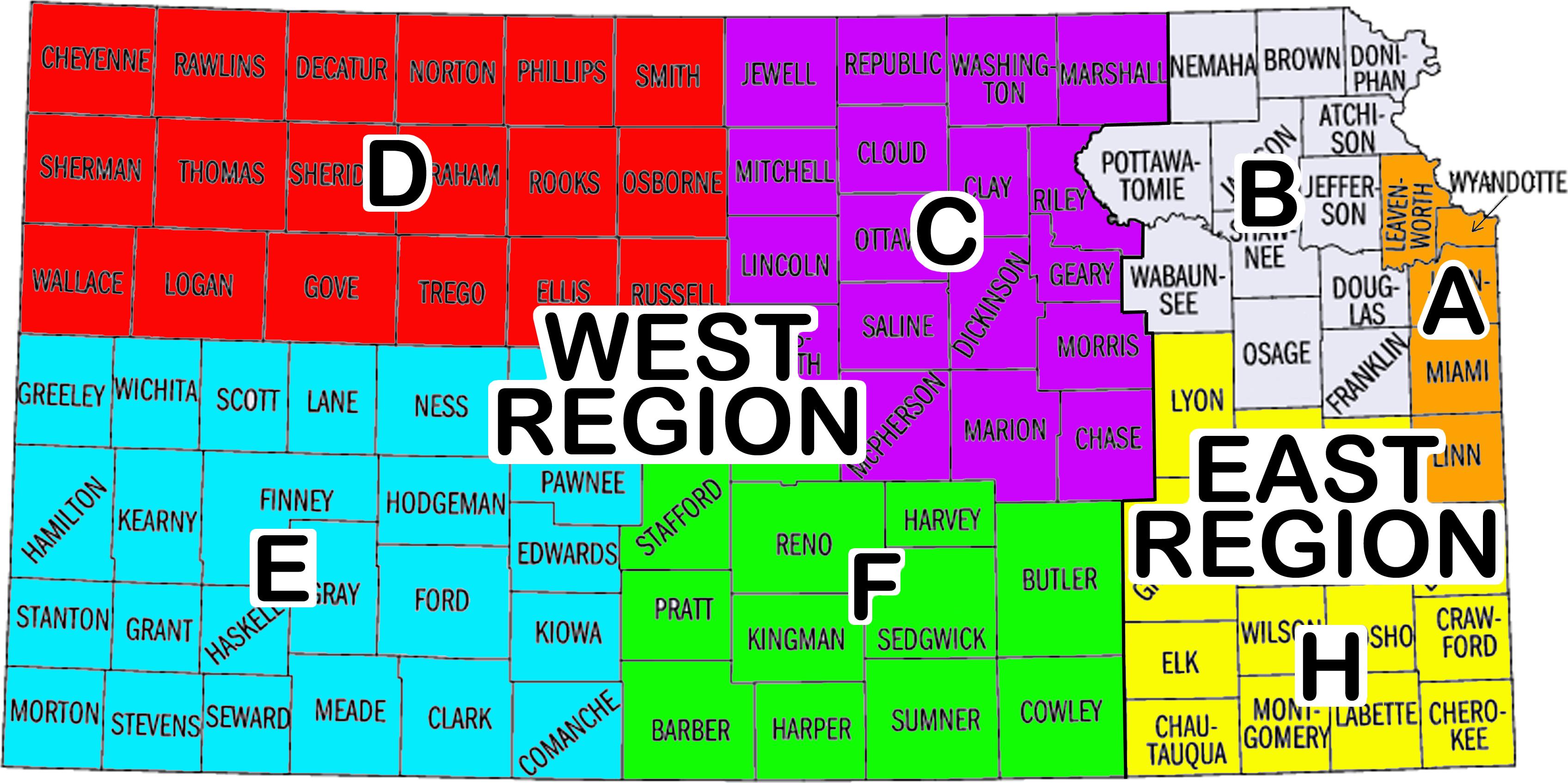 Kansas Highway Patrol Wikiwand - Kansas highway map