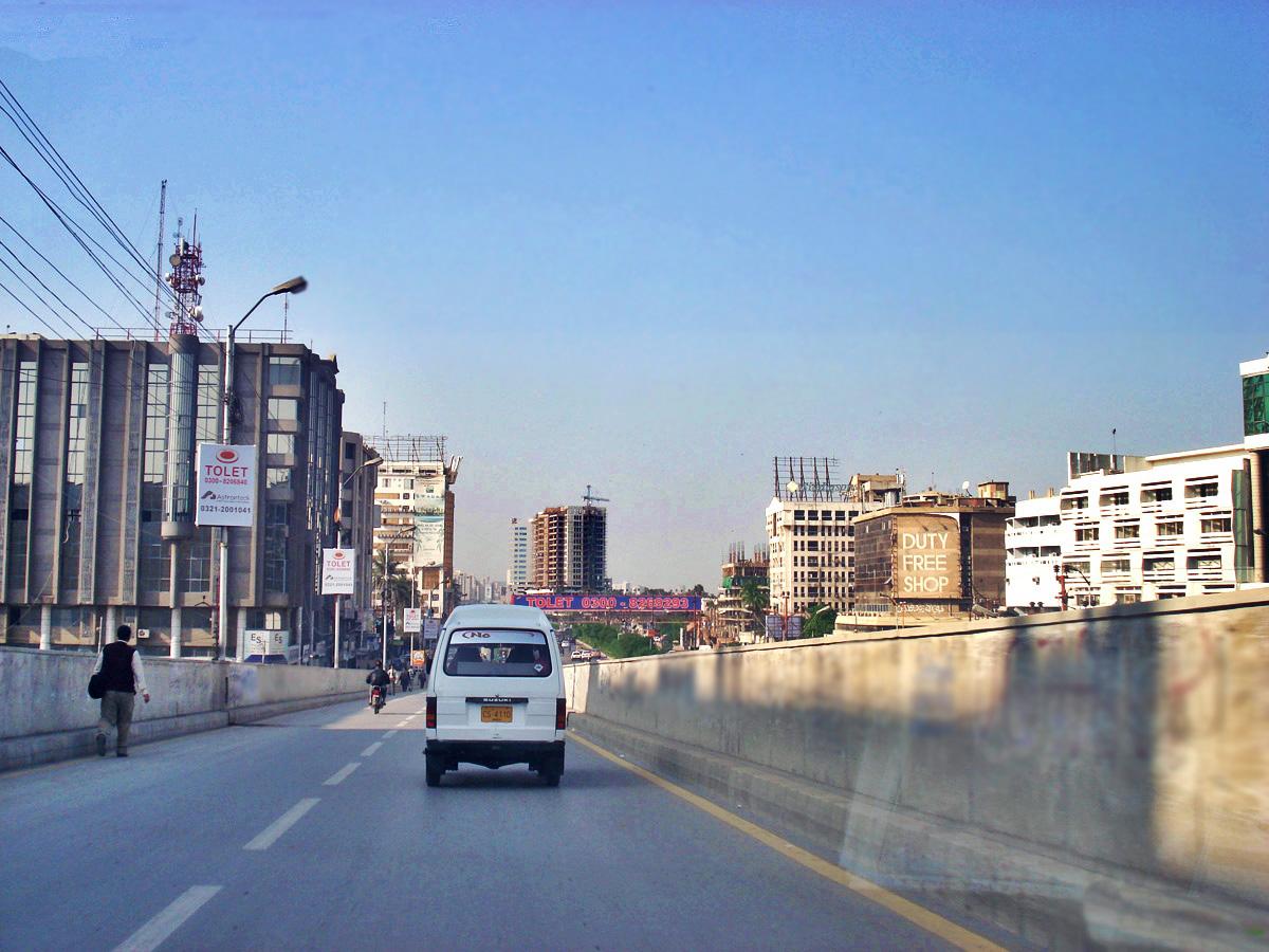From Baloch Colony Bridge