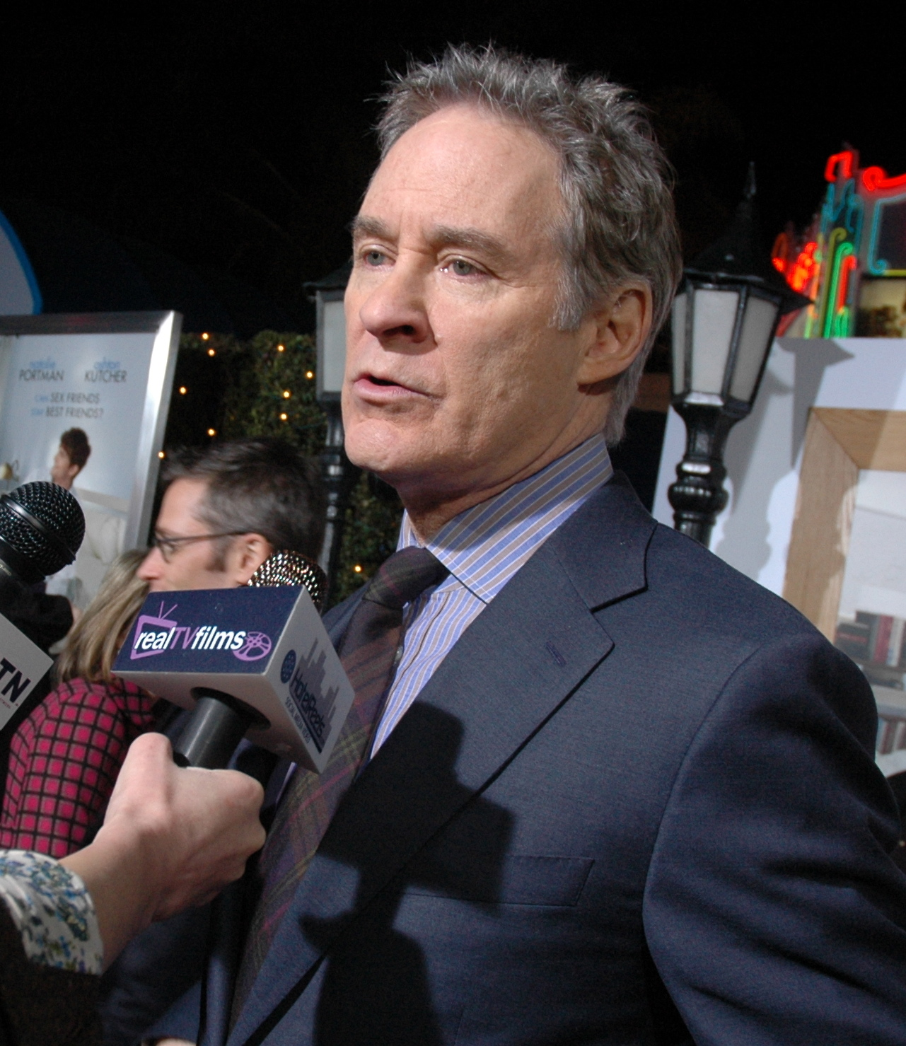 Kevin Kline couple