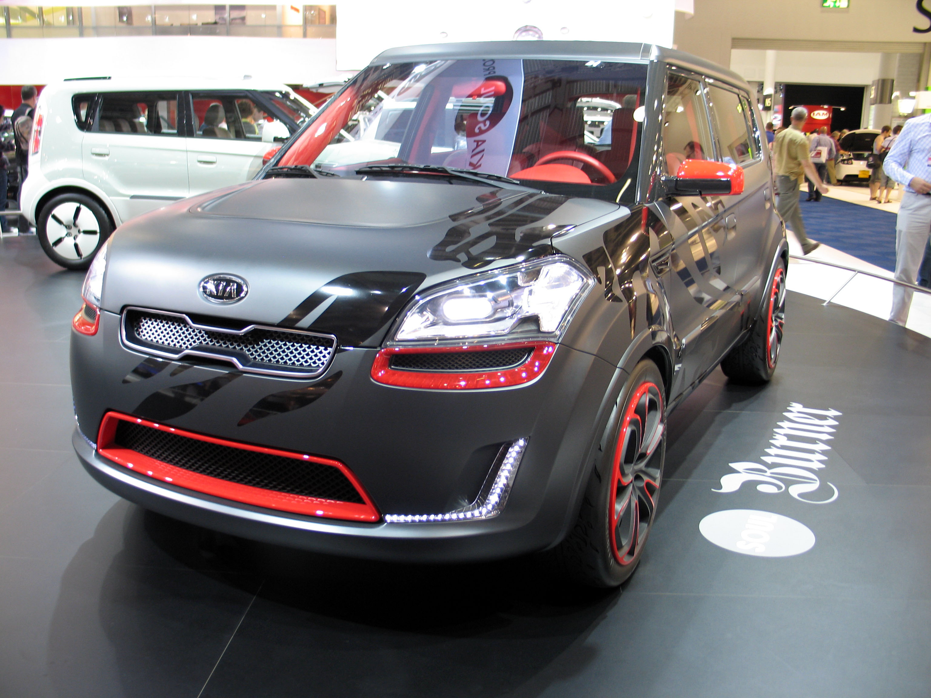 Exotic Kia Soul Concept Car