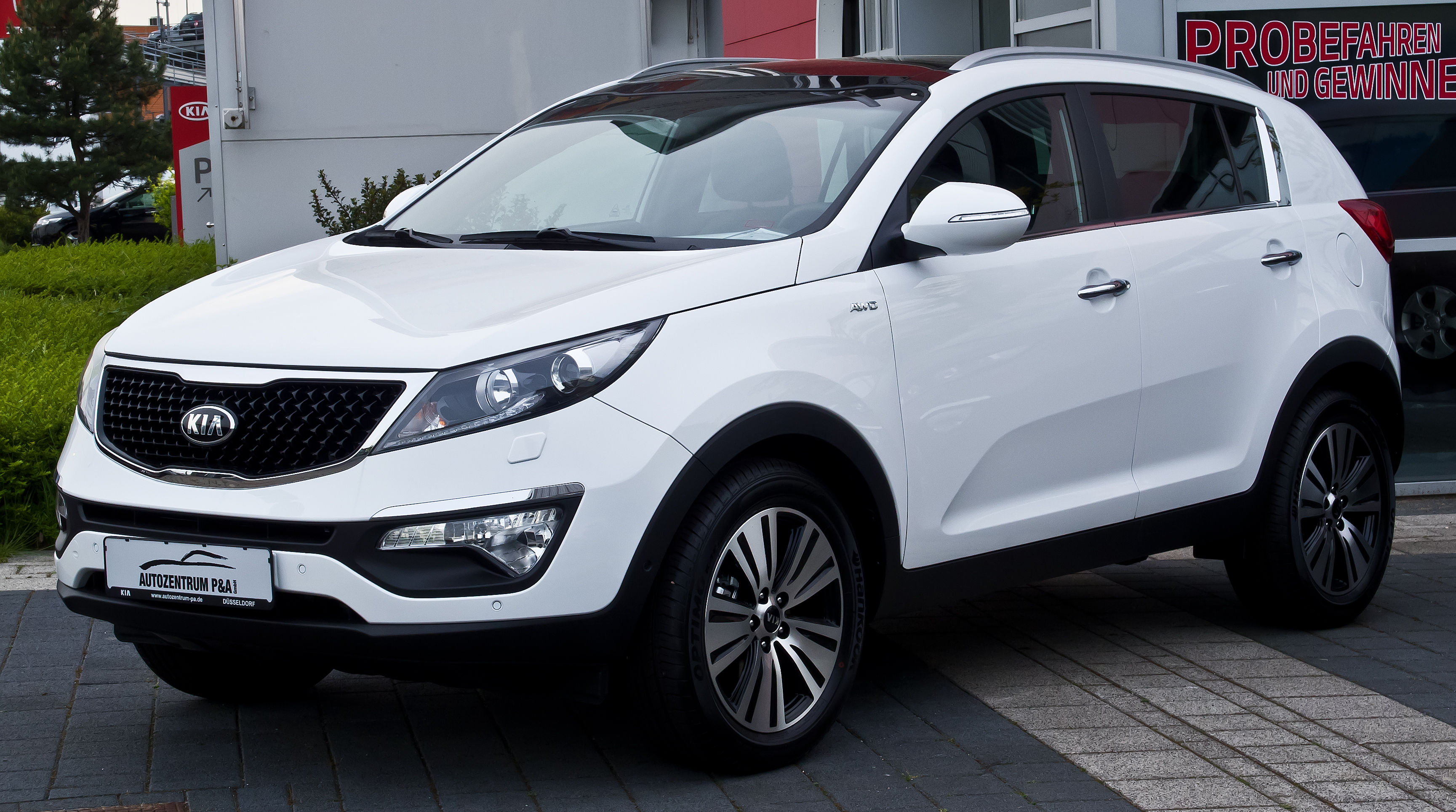 file kia sportage 2 0 crdi awd platinum edition iii facelift frontansicht 4 mai 2014. Black Bedroom Furniture Sets. Home Design Ideas