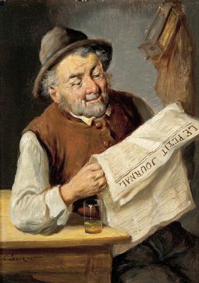 Konstantin Soitzner, Un lecteur du Petit Journal, date ?
