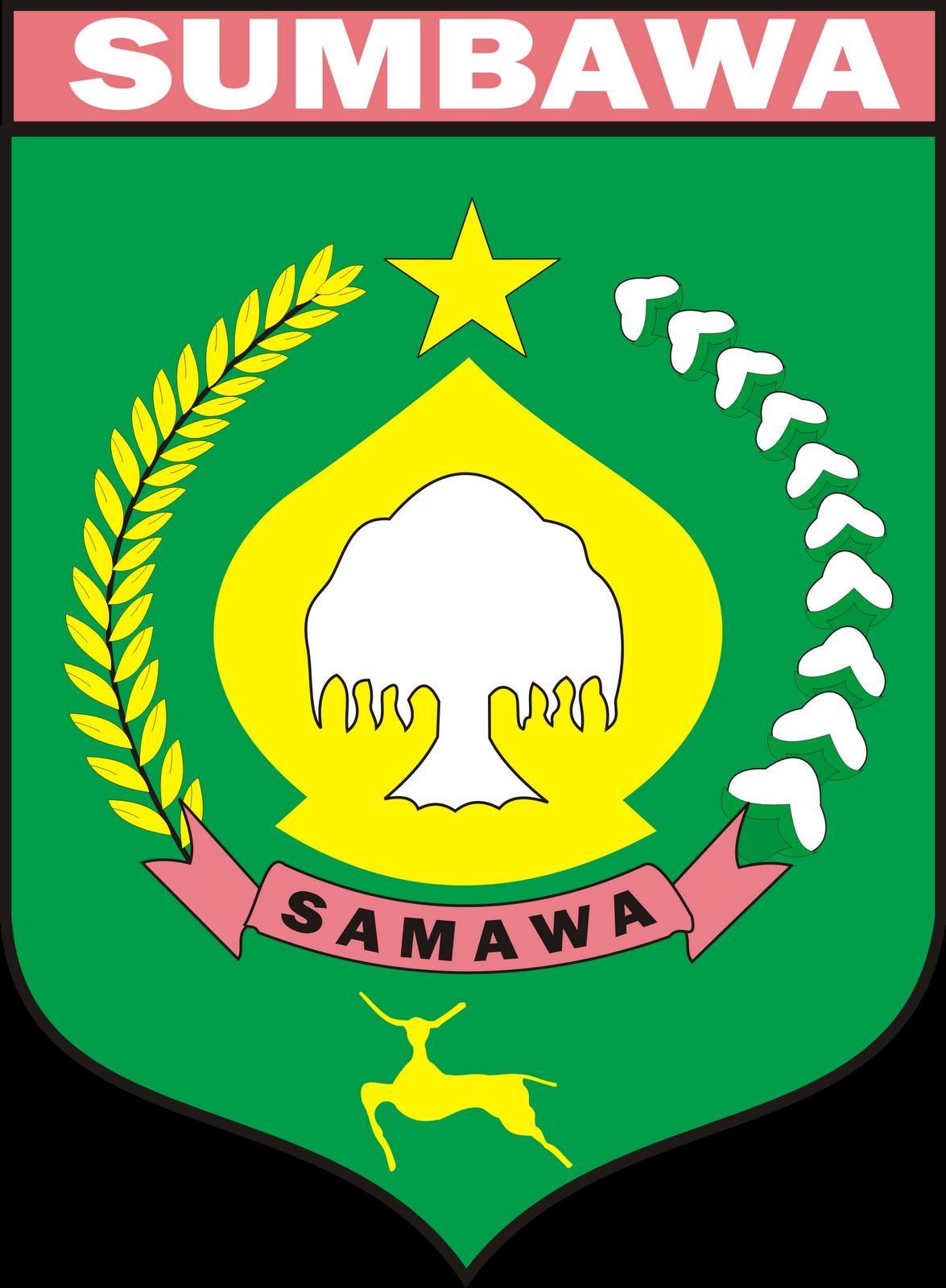 File Lambang Kabupaten Sumbawa Png Wikimedia Commons