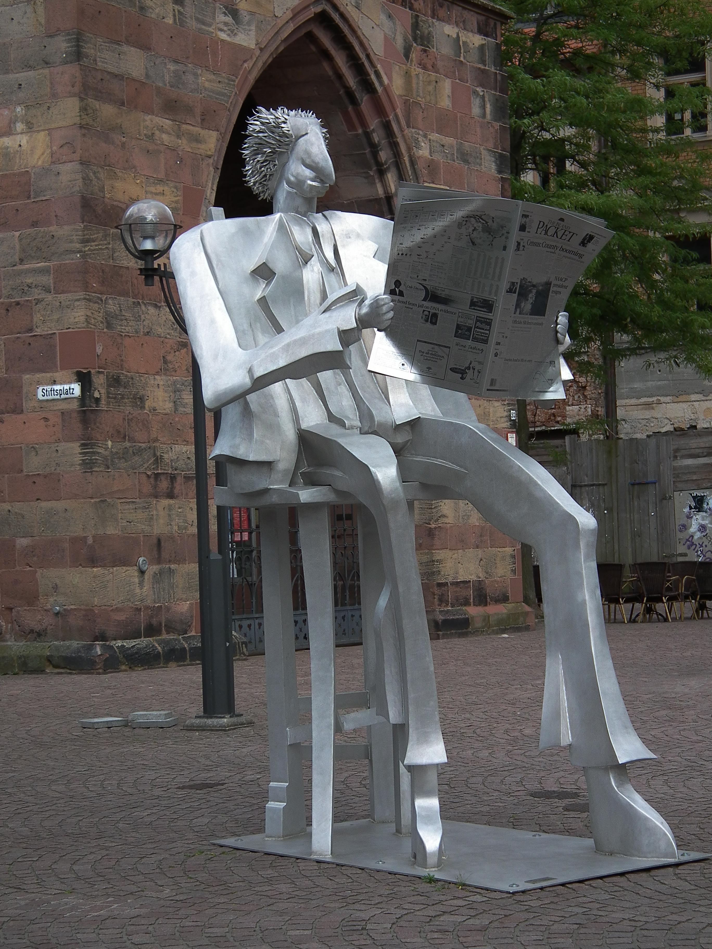 Sculpture by Kurt Laurenz Metzler