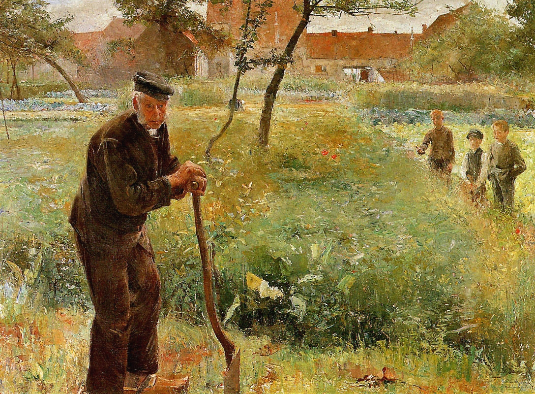File le vieux jardinier guillaume van strydonck jpg for Le jardinier