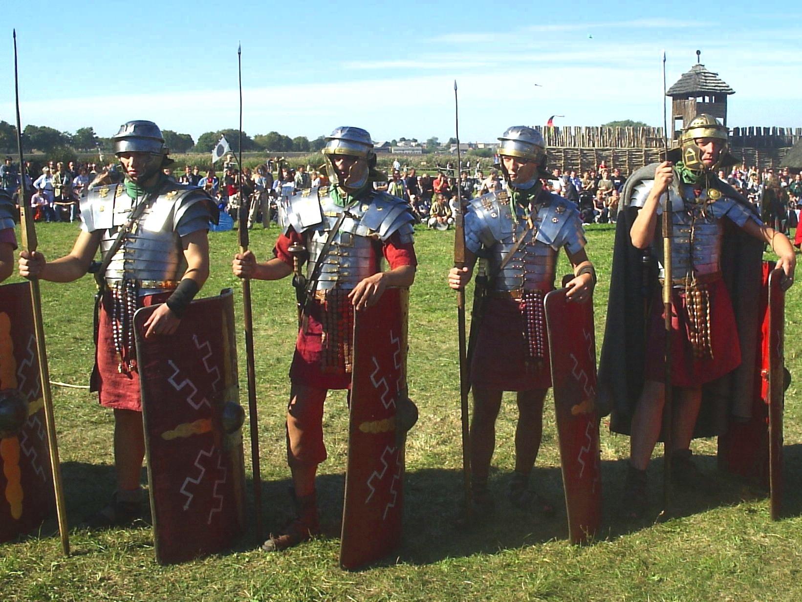 Batalla de Guadalete  Godos vs. Godos. Legionisci_2
