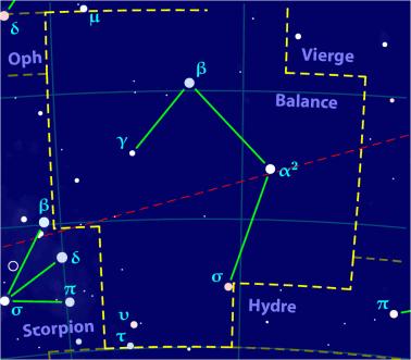 Carte pour la constellation Balance Produite à l'aide du logiciel PP3 - Orthogaffe / Korrigan - Wikimedia Commons