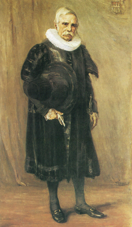 Liebermann, Bürgermeister Carl Friedrich Petersen (1891).jpg