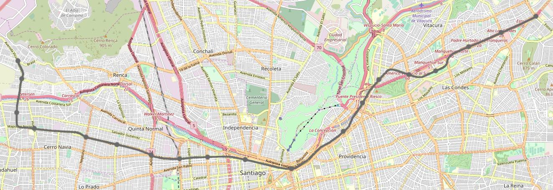 Santiago Metro Line 7 Wikipedia