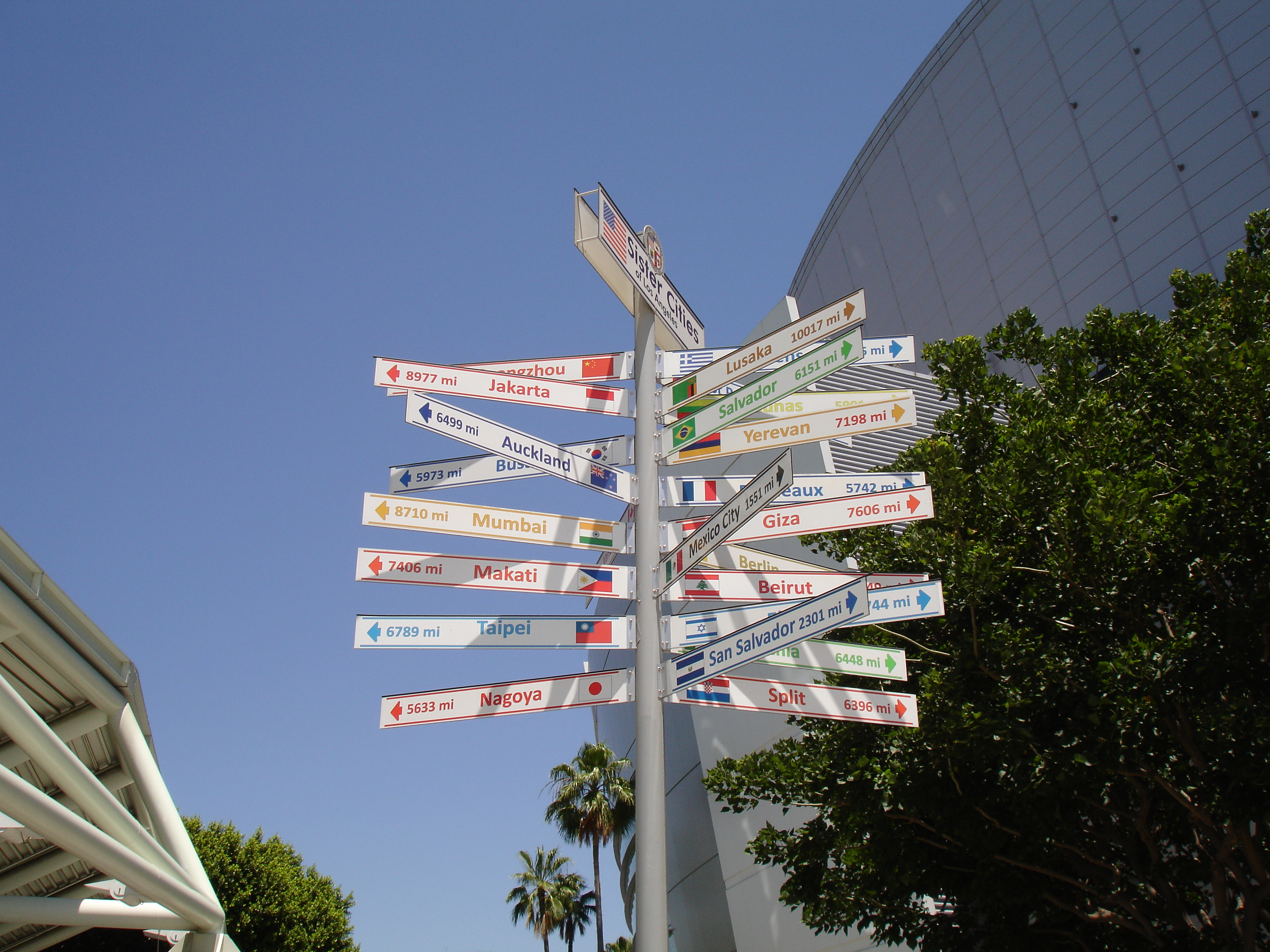 City Of Los Angeles Organizational Chart: Los Angeles Sister Cities sign 2014-05-14.JPG - Wikimedia Commons,Chart