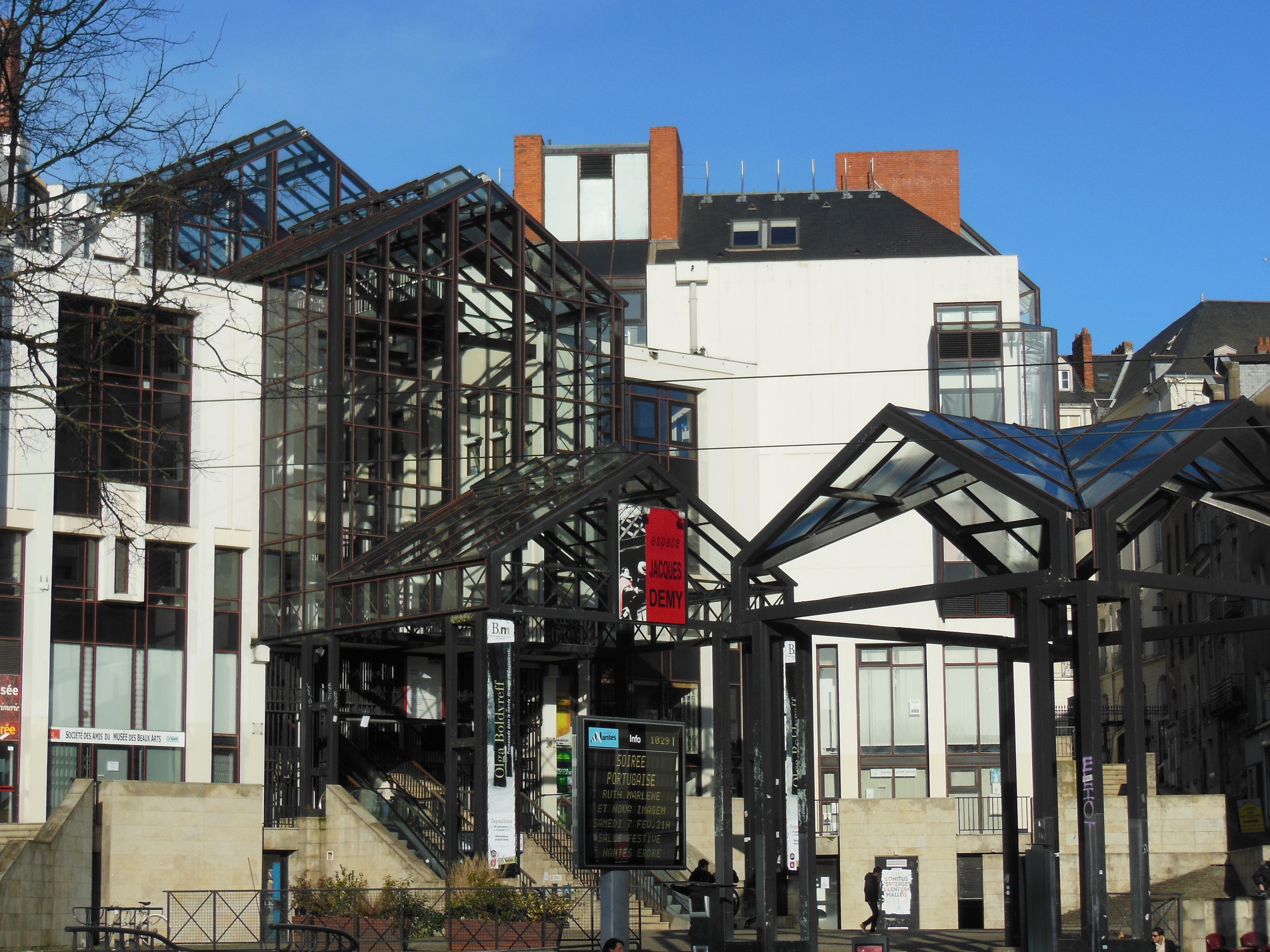 Bibliothèque Municipale De Nantes Wikipédia