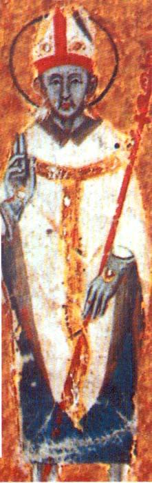 Den hellige Maximus I fra manuskriptet med bispelisten