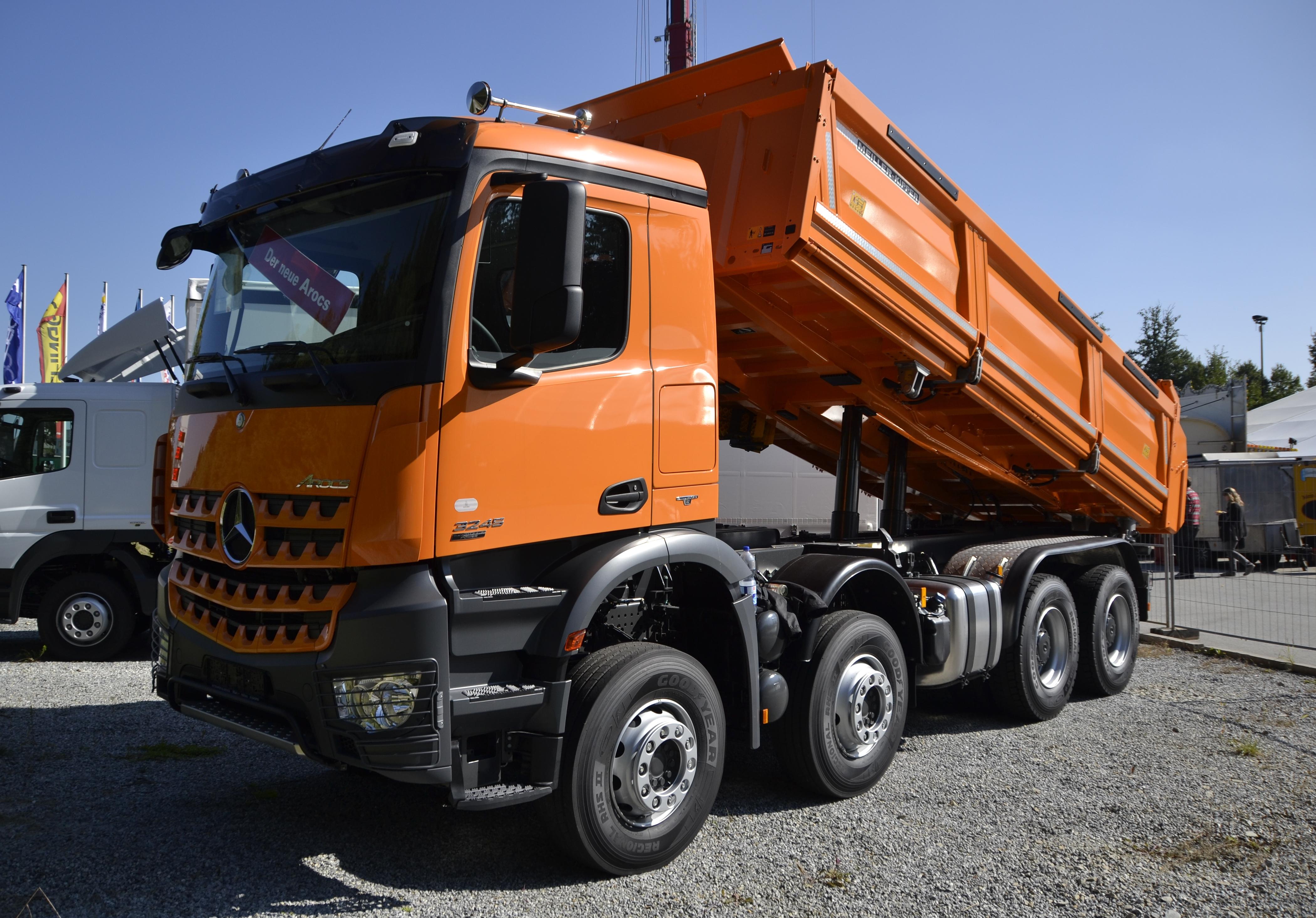 Mercedes Benz Arocs Dump Truck Version on Ford Drum Brake Parts Diagram