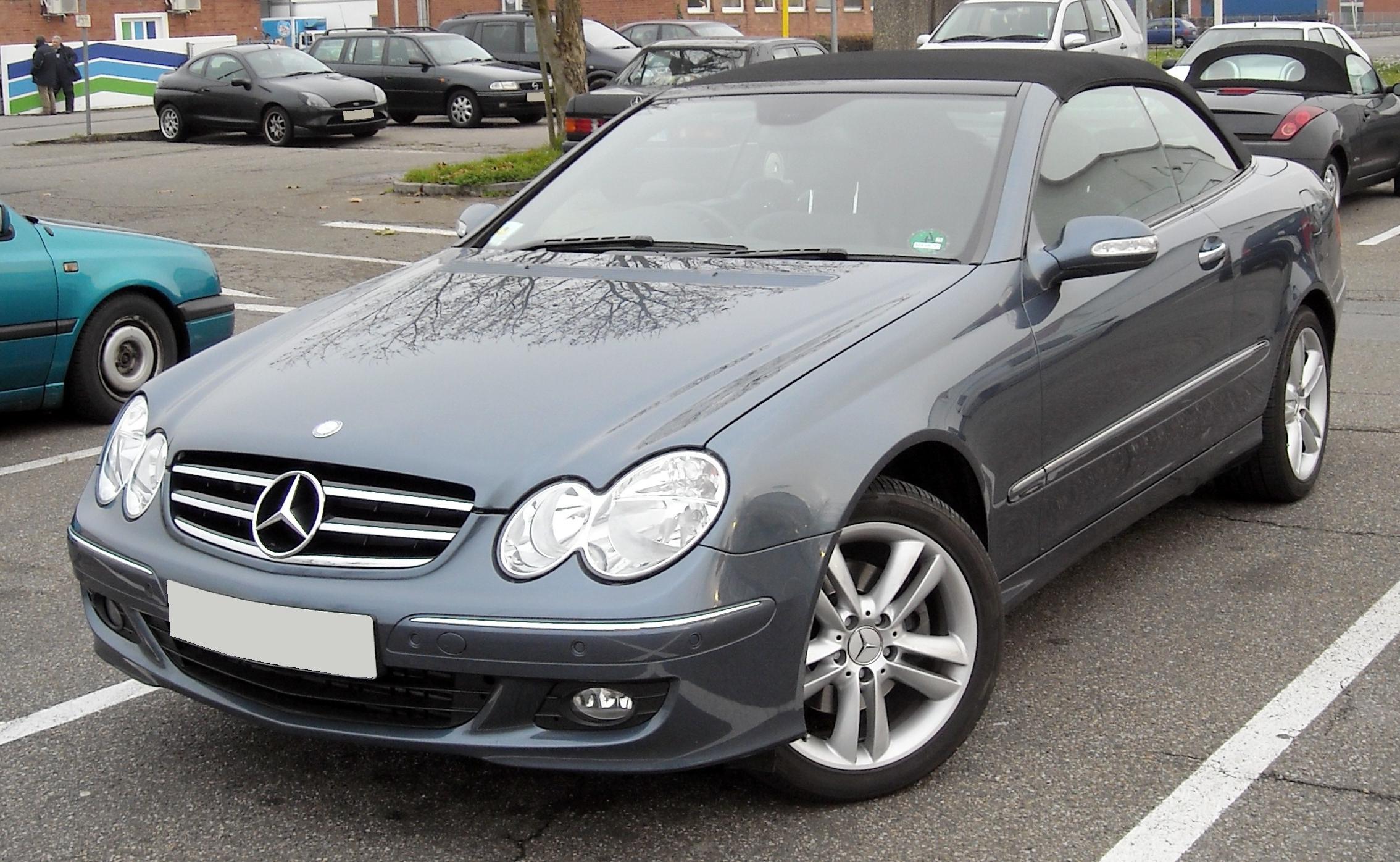 Mercedes Benz W209 — Википедия
