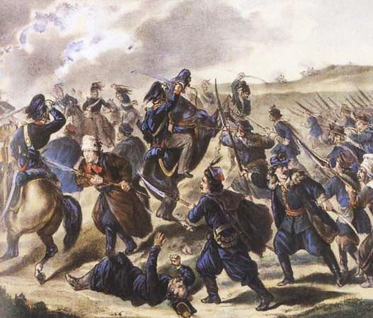 [Soulèvement] Insurrection polonaise de 1861-1864. Miechow