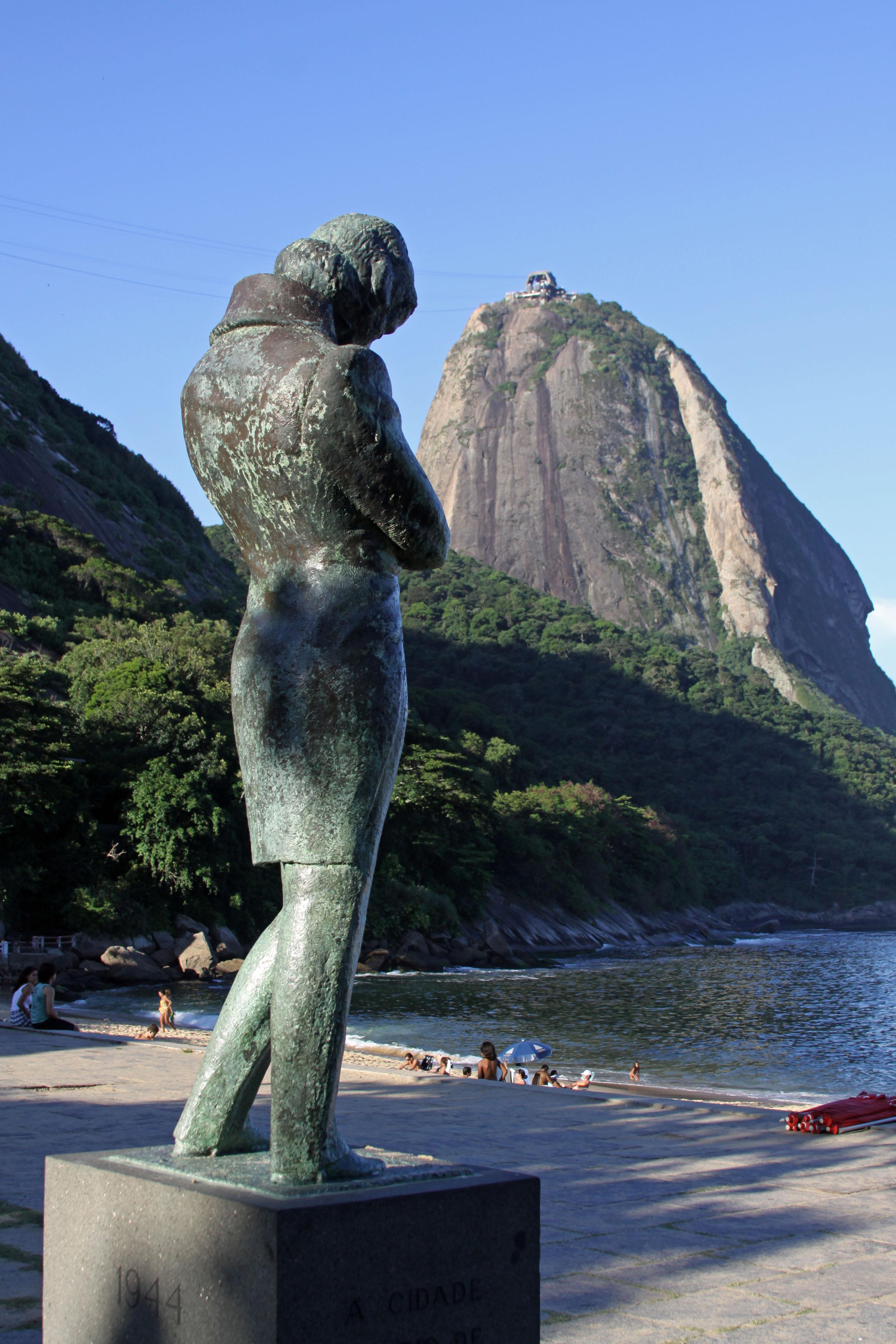 Estatua de Chopin en Río de Janeiro