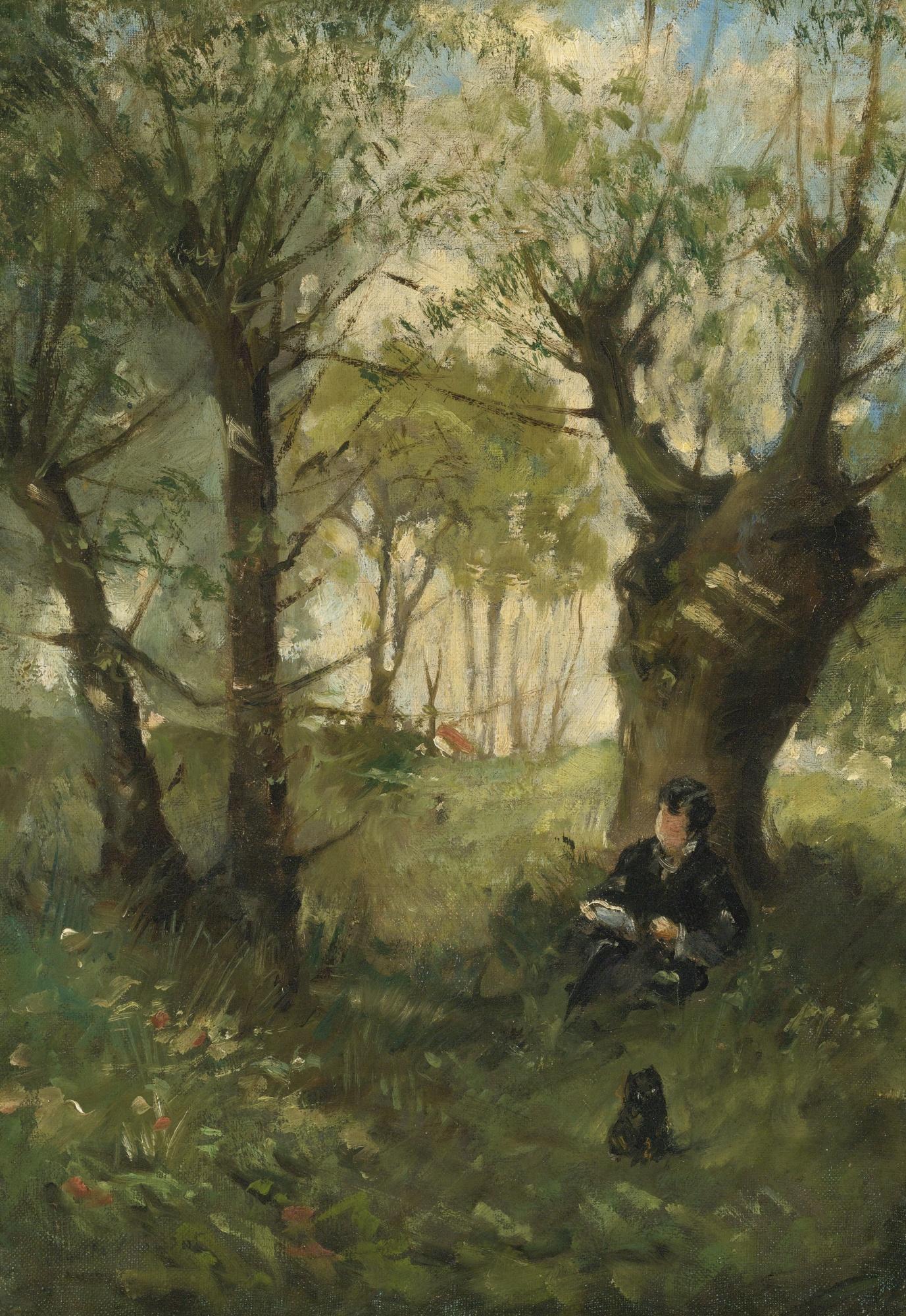 File:Morisot - VIEUX CHEMIN À AUVERS, 1863.jpg - Wikimedia Commons