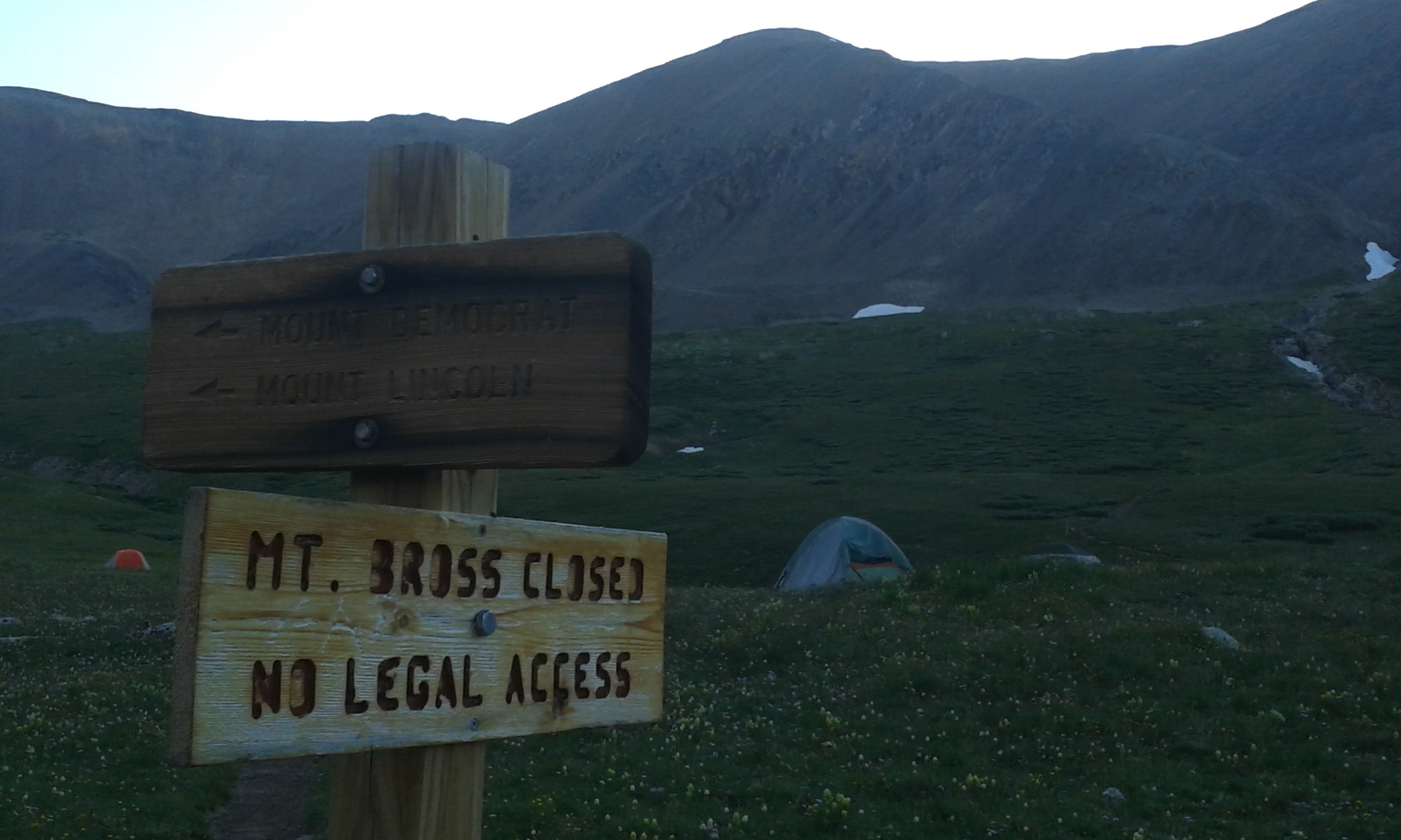 Filemt Bross Closed Sign At Kite Lake Wikimedia Commons