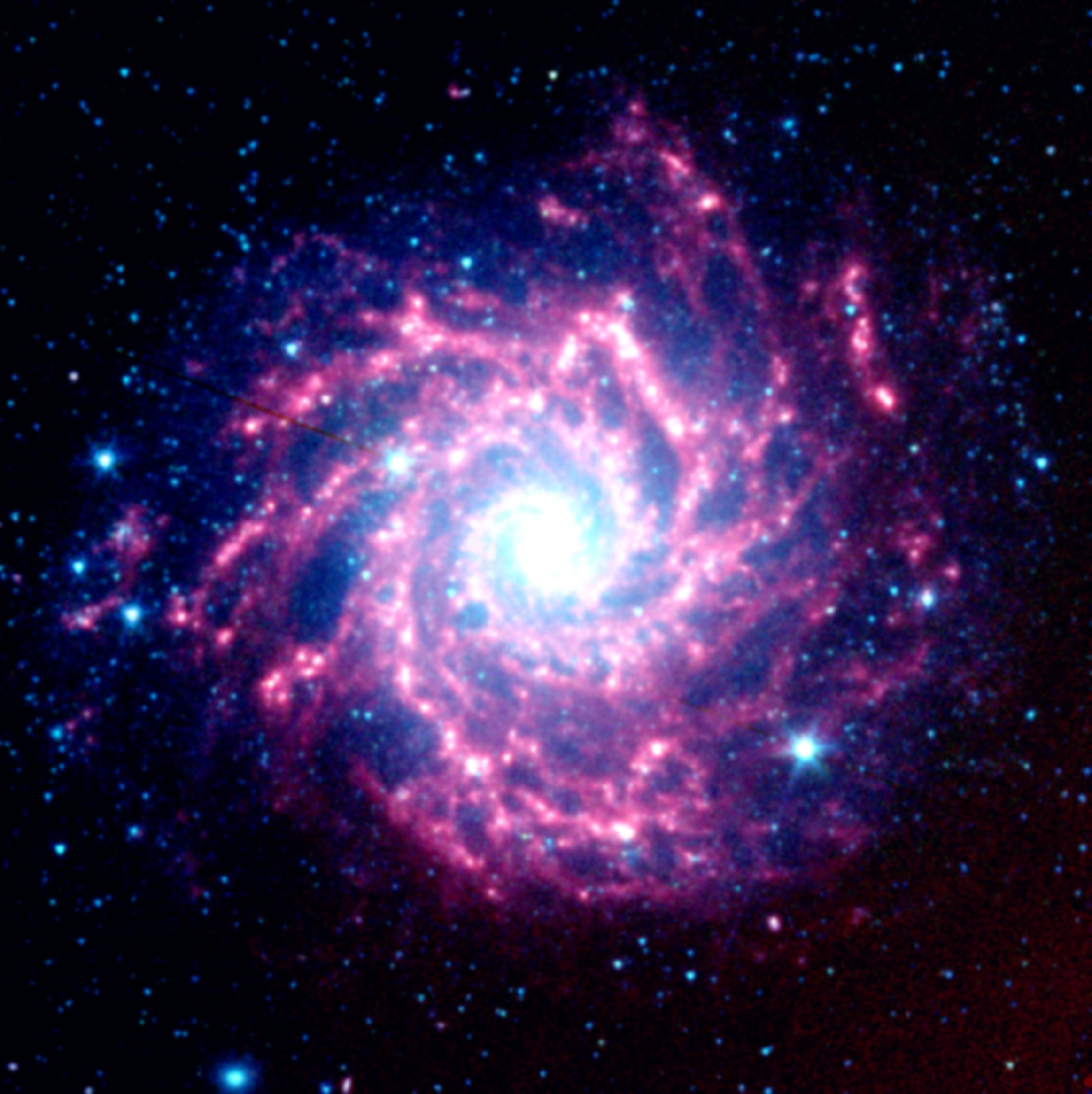 File nasa 39 s spitzer space telescope view of - Spitzer space telescope wallpaper ...