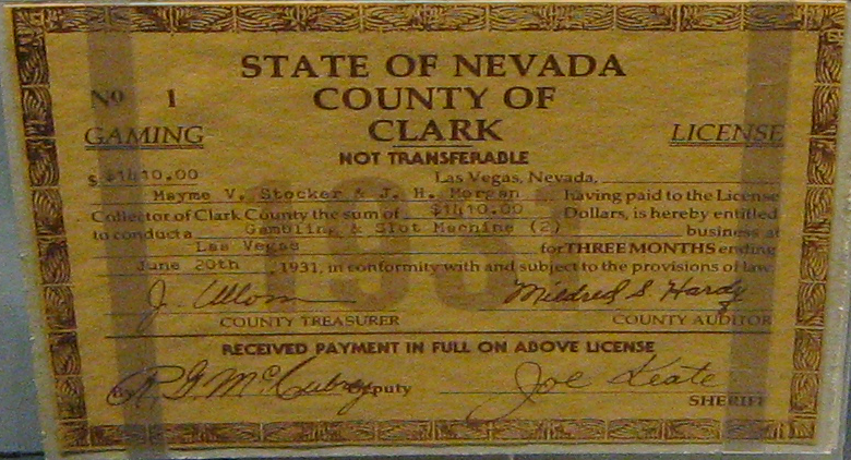 gaming license