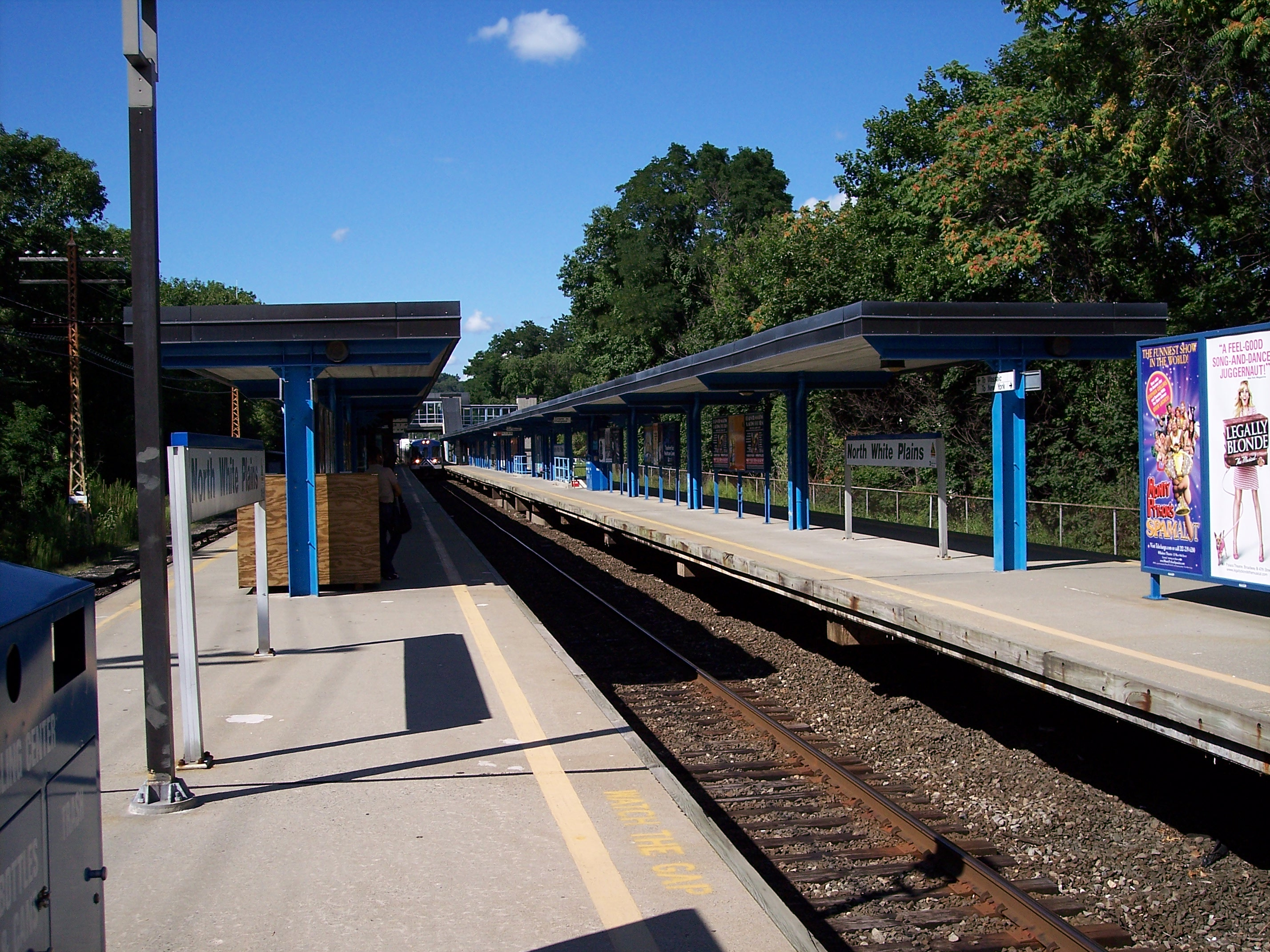 White plains new york train station schedule union