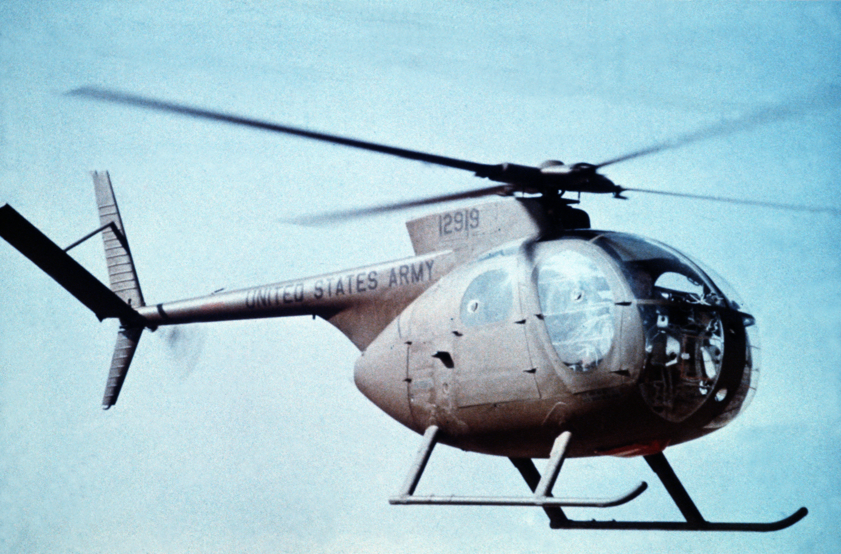 Depiction of Hughes OH-6 Cayuse
