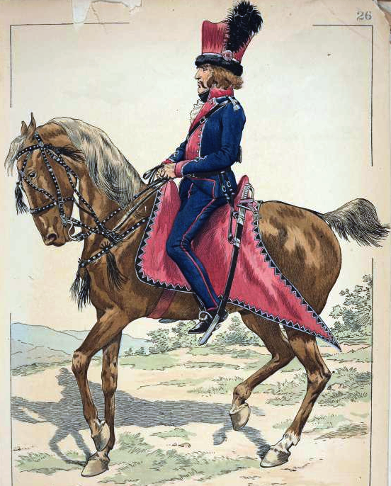 File:Officer of the Cavalry of Polish Legions in Italy ...