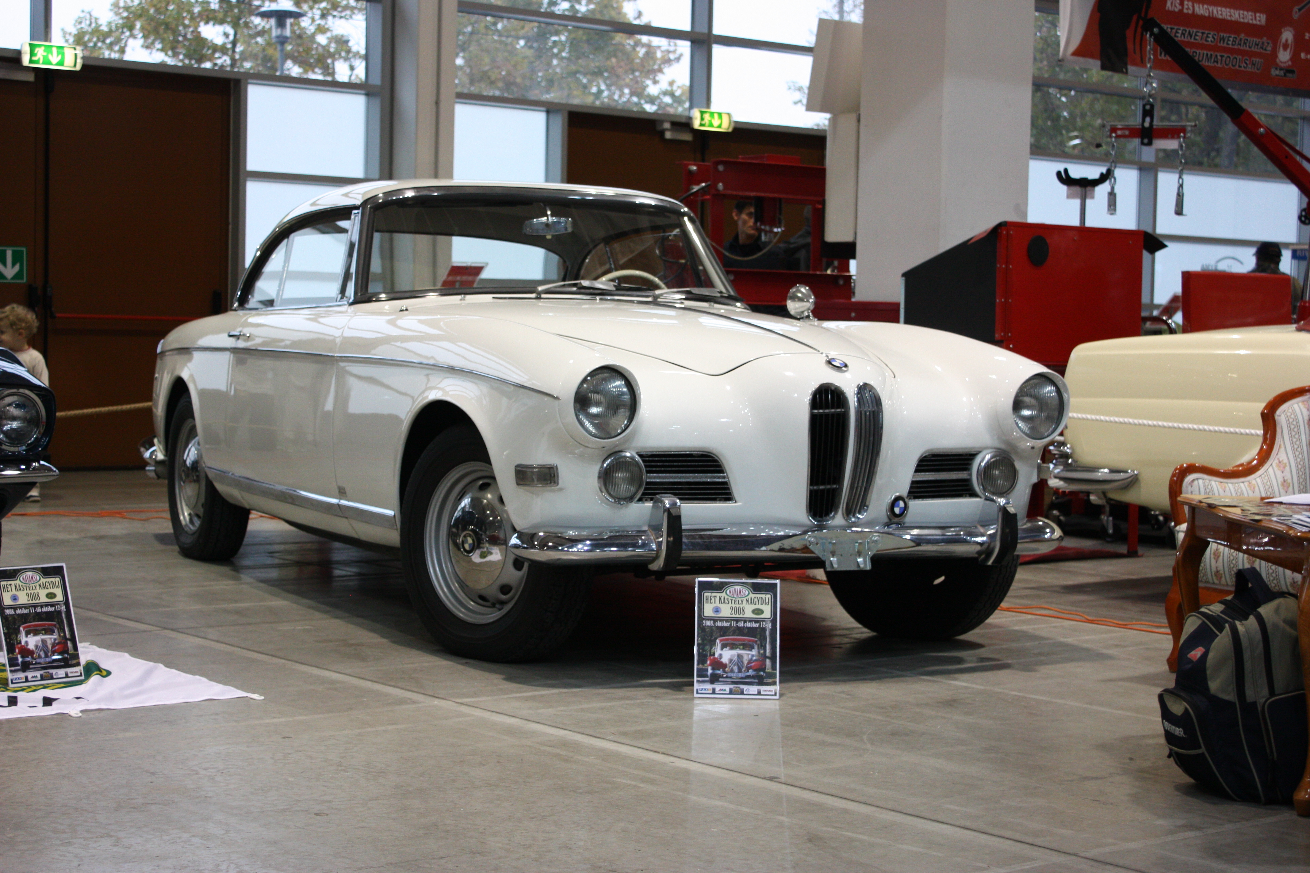 file oldtimer show 2008 028 bmw 503 coupe front jpg wikimedia commons. Black Bedroom Furniture Sets. Home Design Ideas