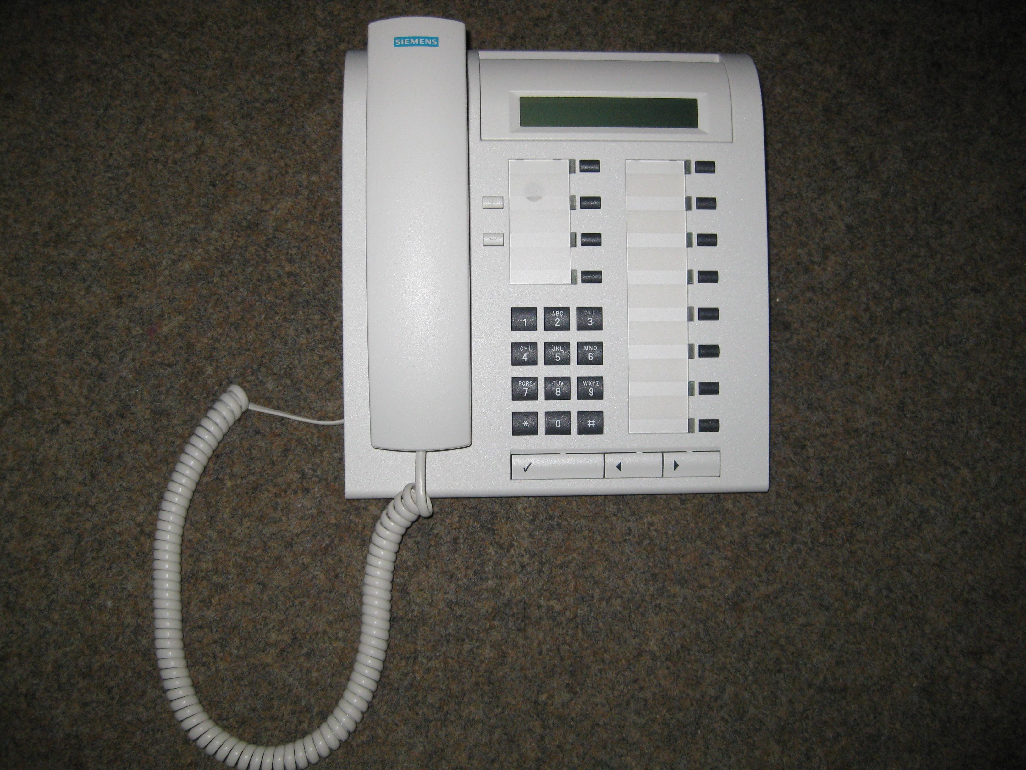 Optiset E Advance Plus WIE NEU für Siemens Hicom//Hipath ISDN ISDN-Telefonanlage