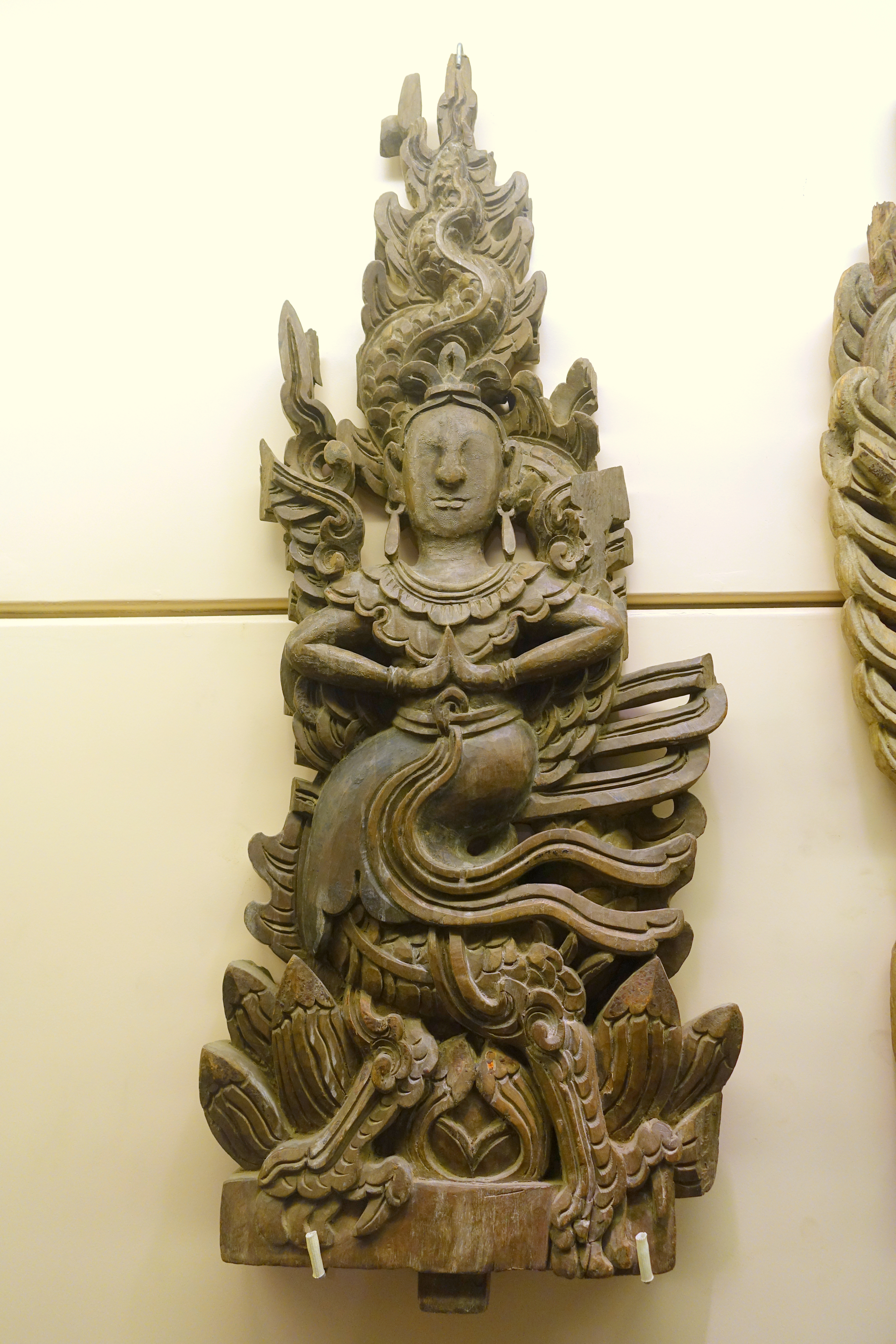 Vietnamese Dragon: File:Panel With Dragon And Fairy Motifs, Restored Le
