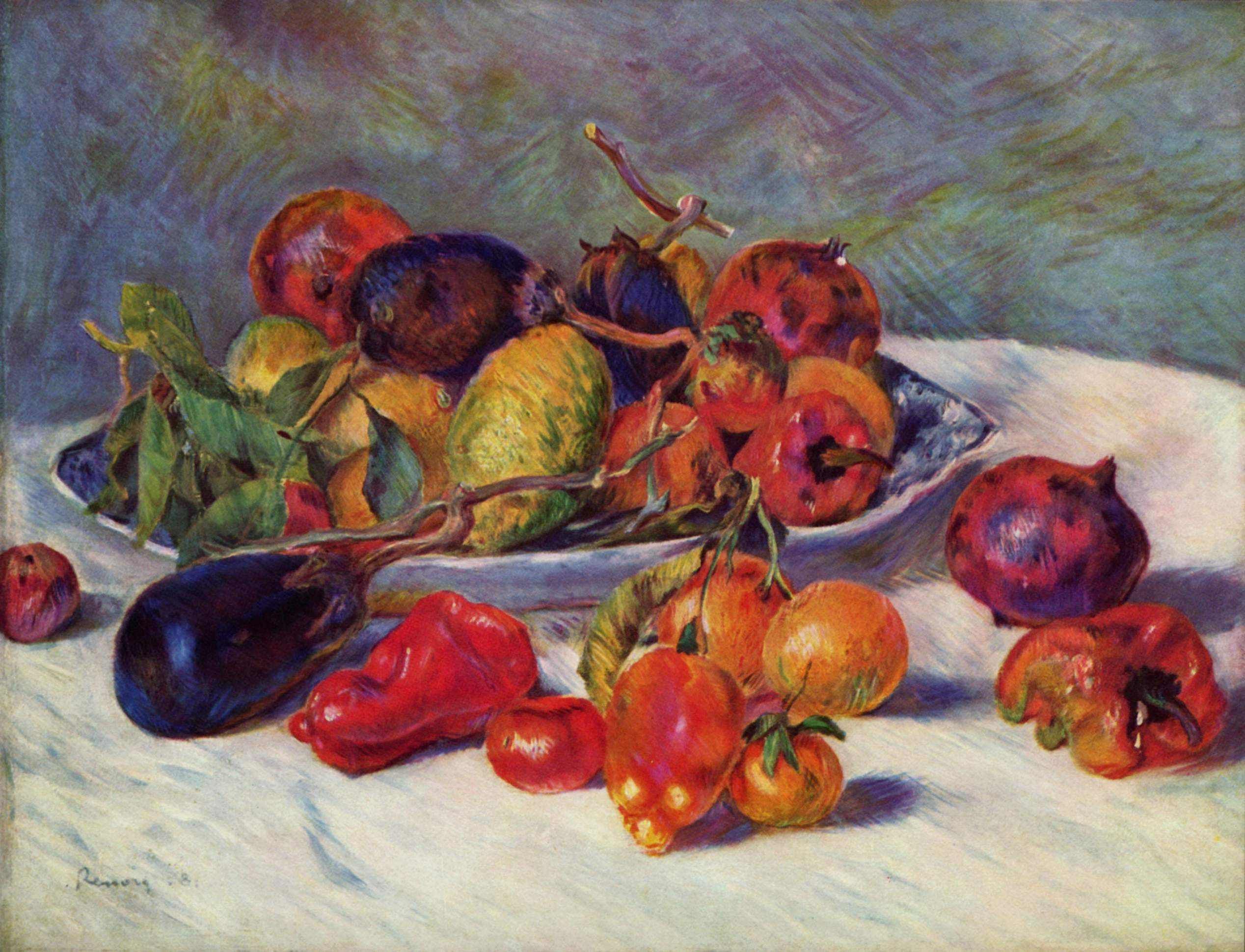 Pierre-Aguste Renoir - Fruits of the Midi, 1881