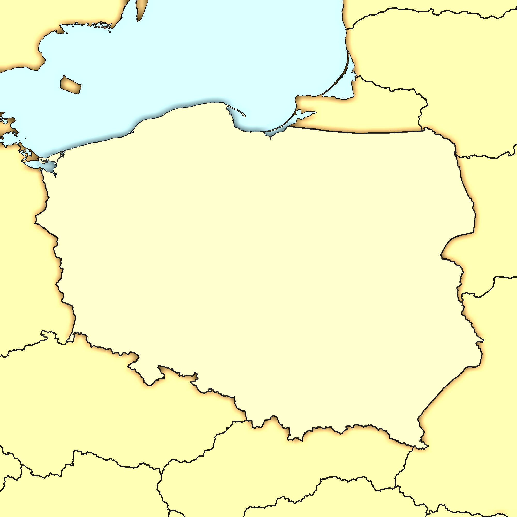 Picture of: File Poland Map Modern Png Wikimedia Commons