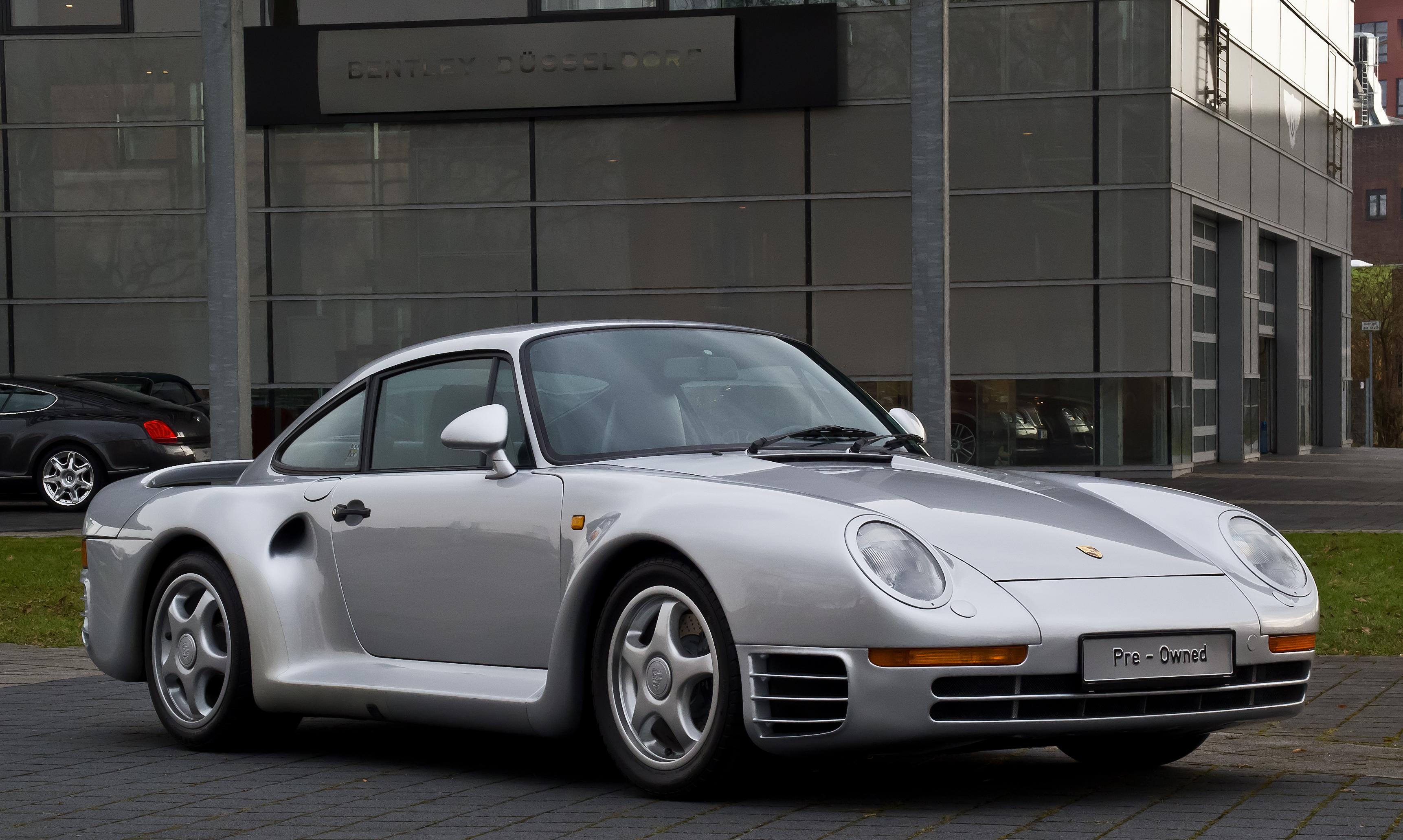 File:Porsche 959 – Frontansicht (2), 21. März 2013, Düsseldorf