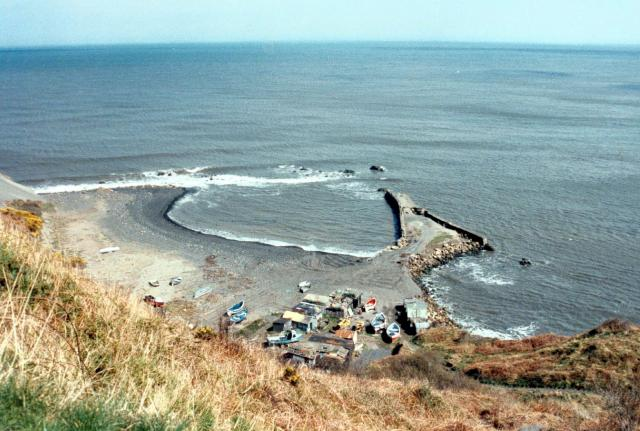 The Abandoned Harbour at Port Mulgrave, Yorkshire