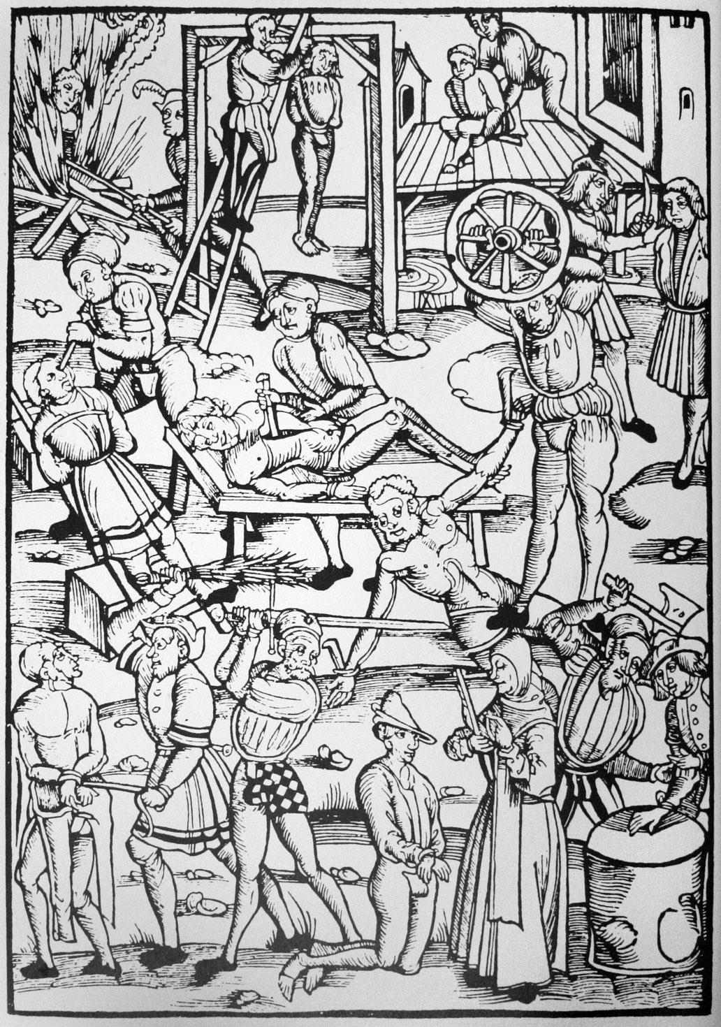 LA HISTORIA HUMANA JAMAS CONTADA Y QUE JAMAS LES CONTARAN...  CAPITULO  IV Punishing-witches-Laienspiegel