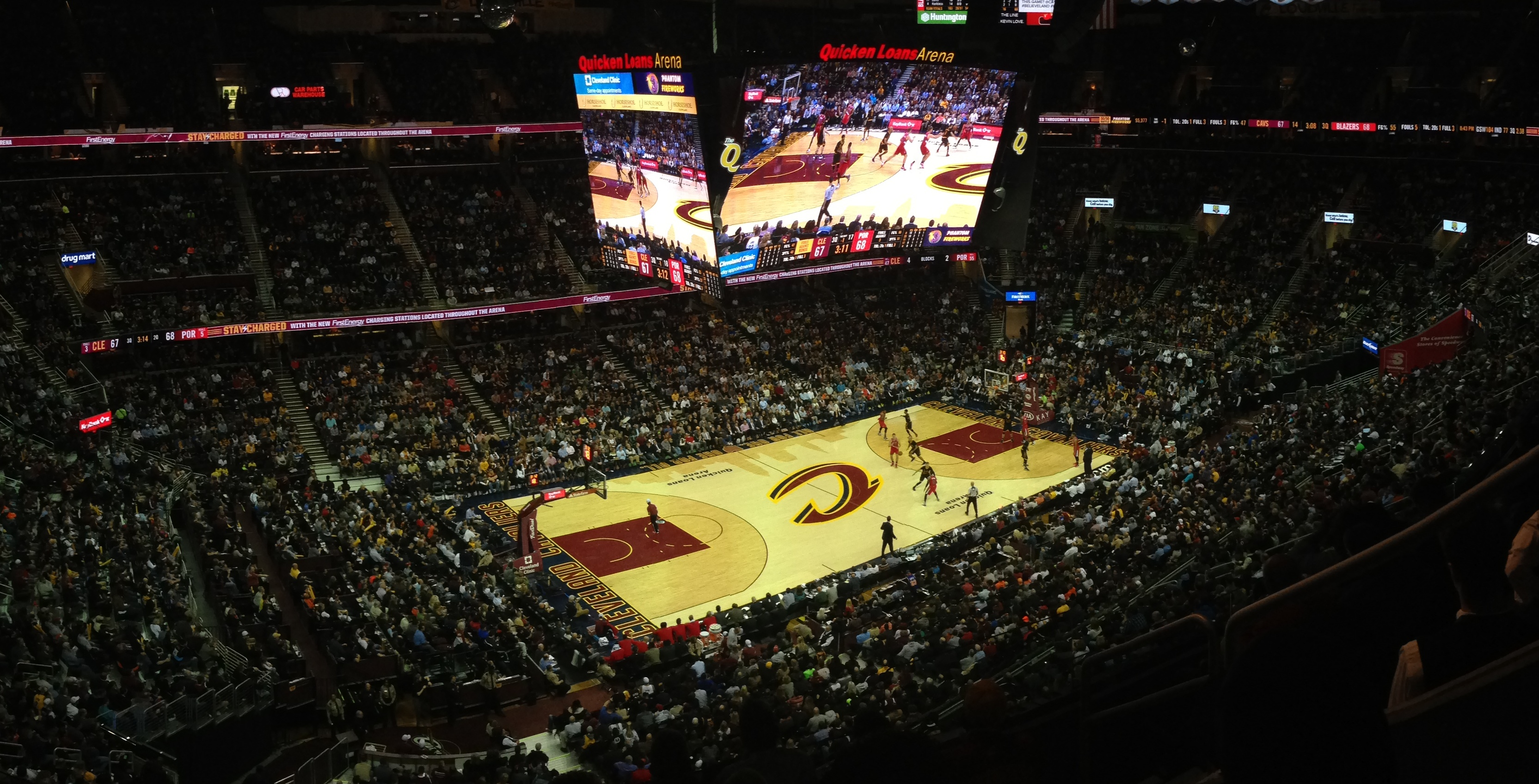 File:Quicken Loans Arena WV photo jpg - Wikimedia Commons