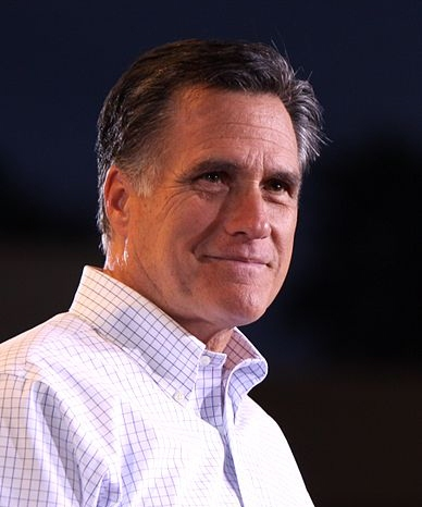 Recorte de Romney in Mesa, Arizona