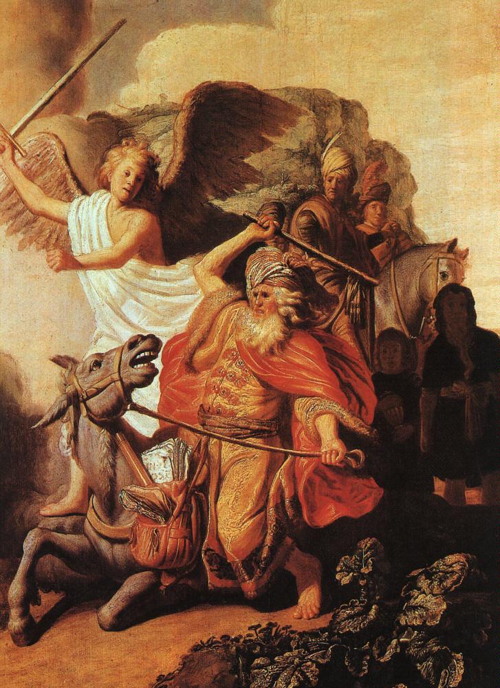 Rembrandt's Balaam's Ass