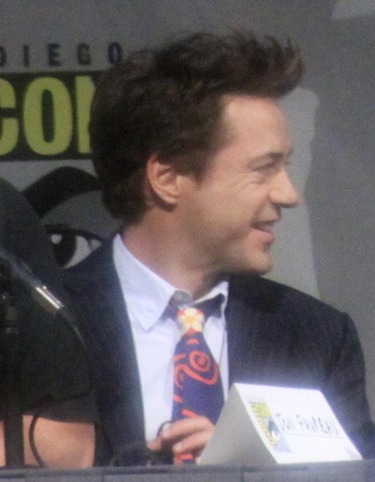 Robert Downey Jr SDCC 2009 1
