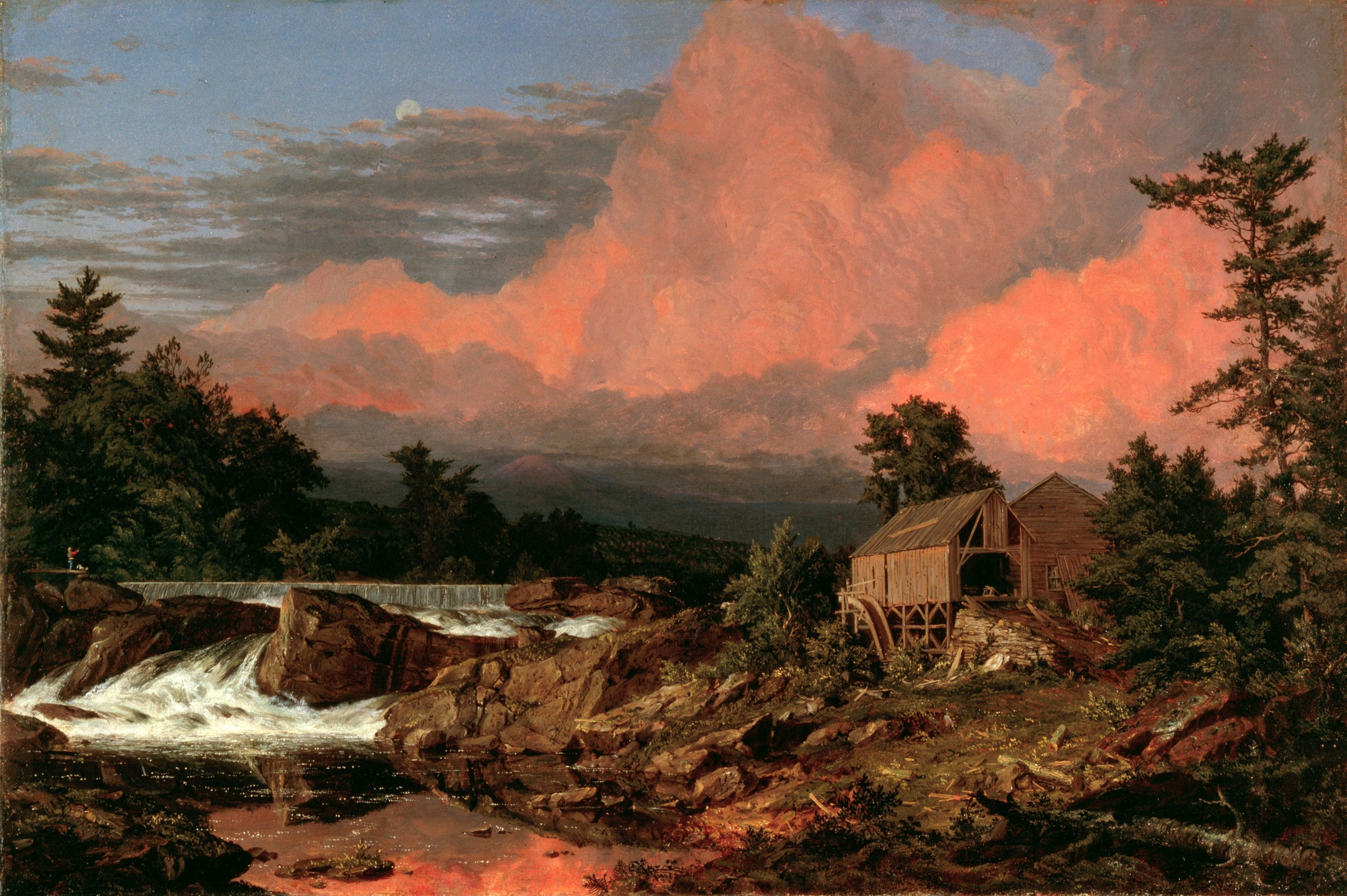File rutland falls vt by frederic edwin church for Frederick church paintings