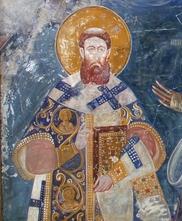 Freska iz Bogorodice Ljeviške u Prizrenu (UNESKO).