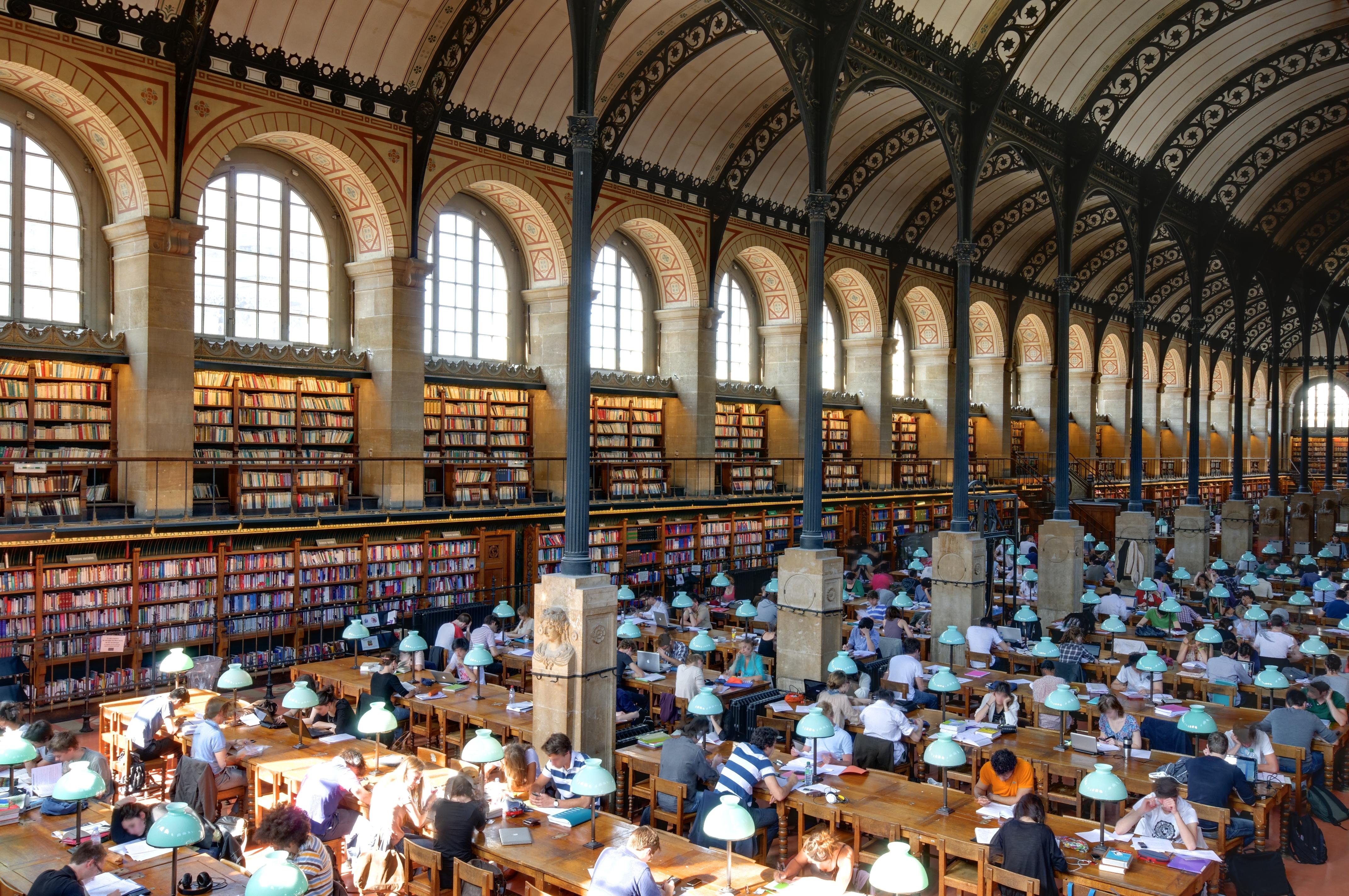 file salle de lecture bibliotheque sainte genevieve n11 jpg wikimedia commons