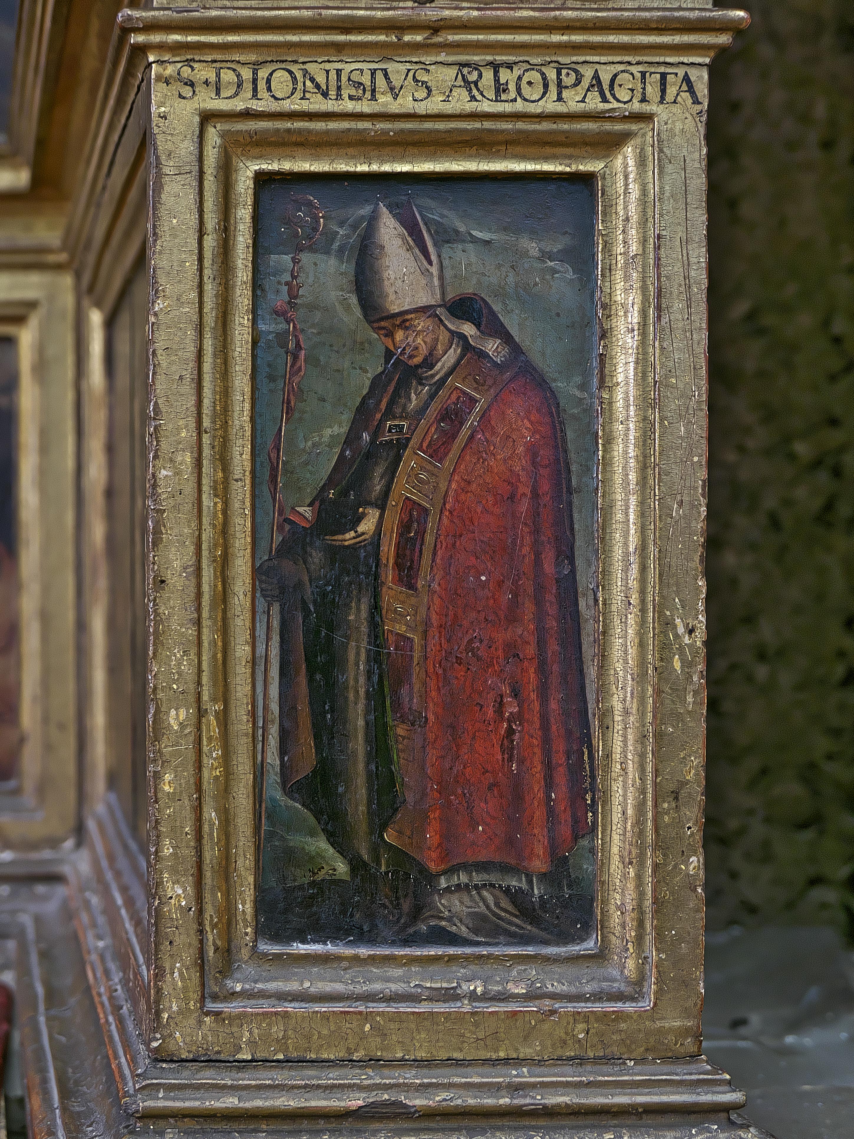 File San Dionisio Areopagita Iglesia De La Anunciacion Sevilla