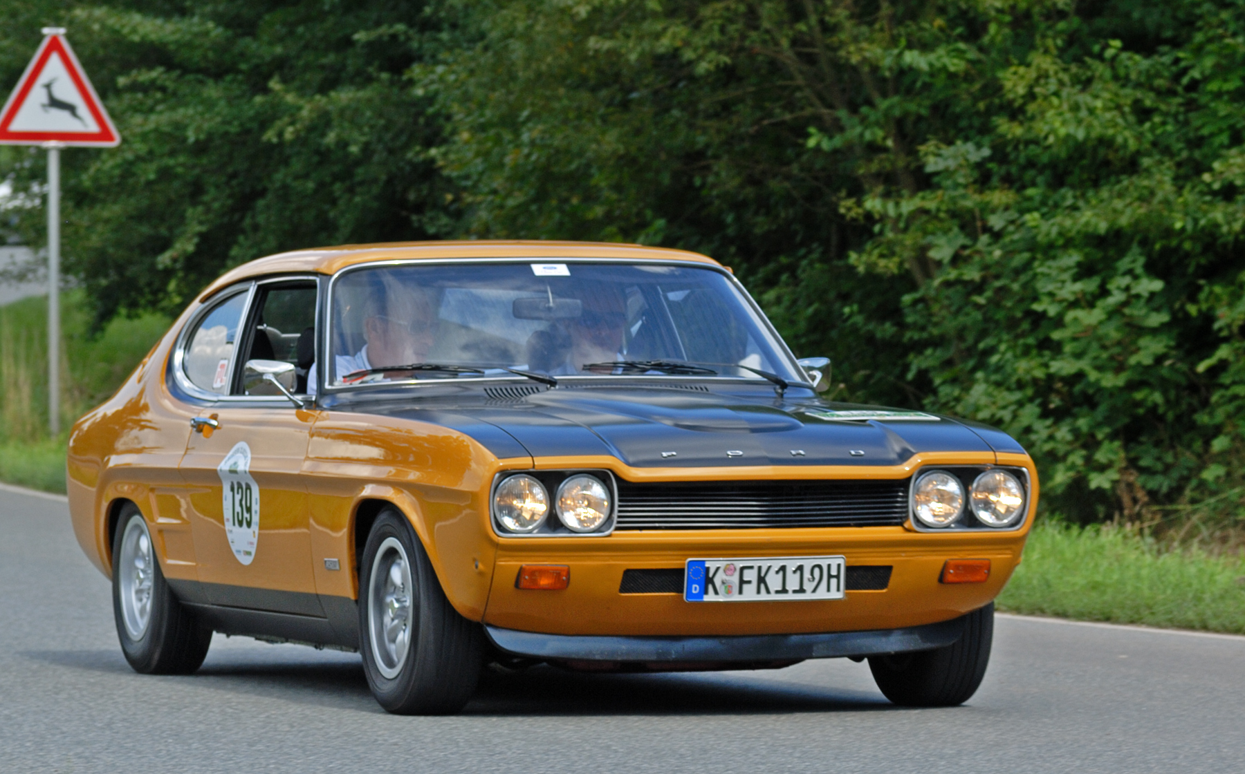 file saxony classic rallye 2010 ford capri rs 2600 1970. Black Bedroom Furniture Sets. Home Design Ideas