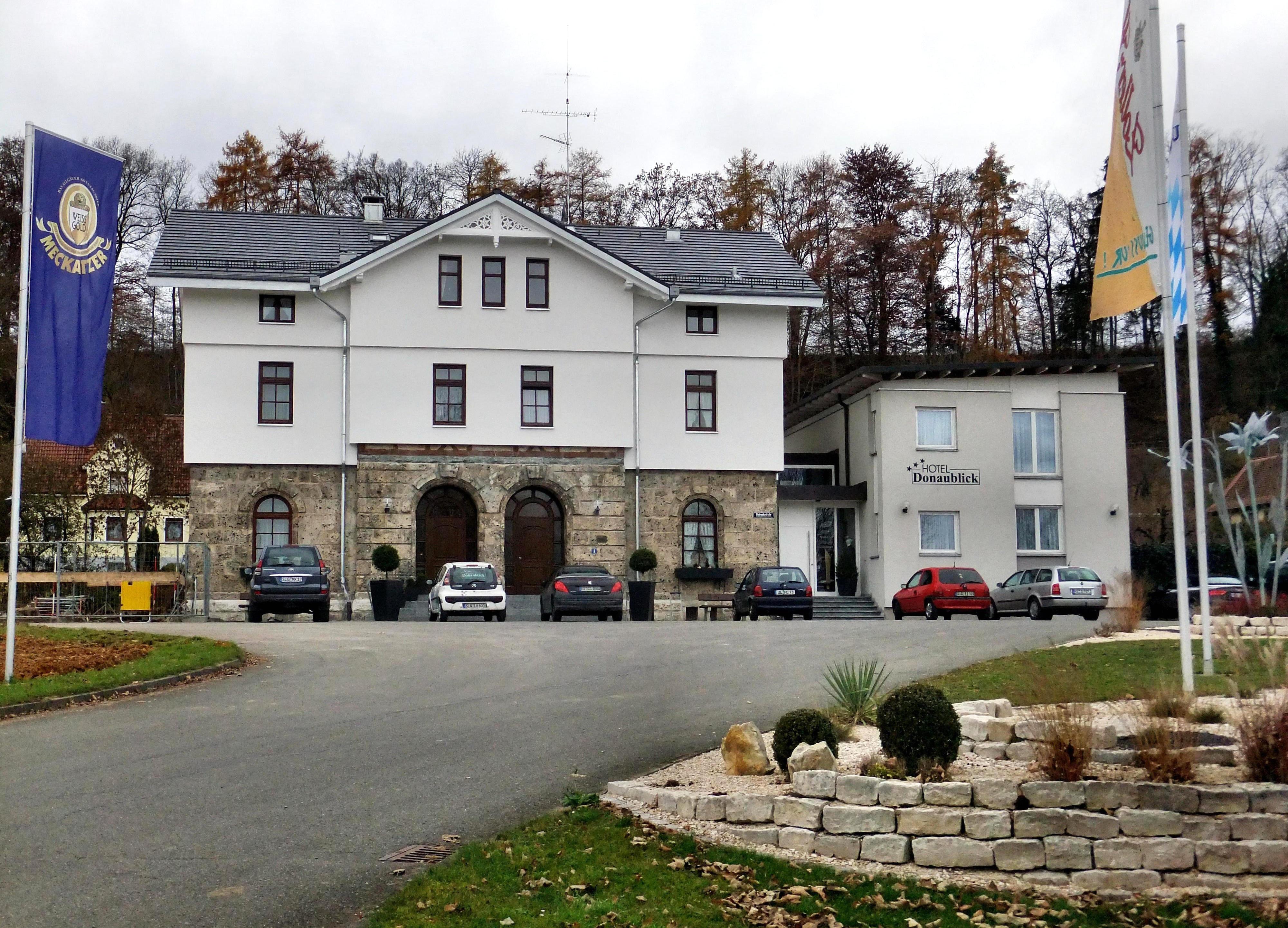 Www Hotel Donaublick In Scheer De